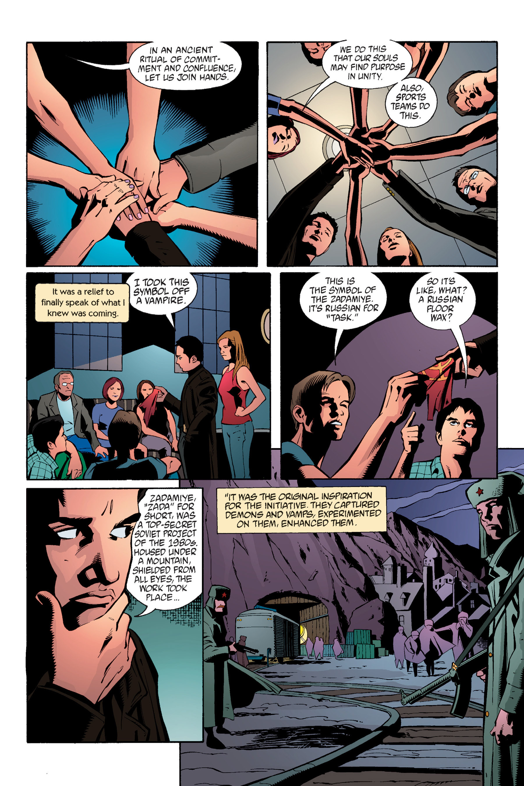 Read online Buffy the Vampire Slayer: Omnibus comic -  Issue # TPB 6 - 36