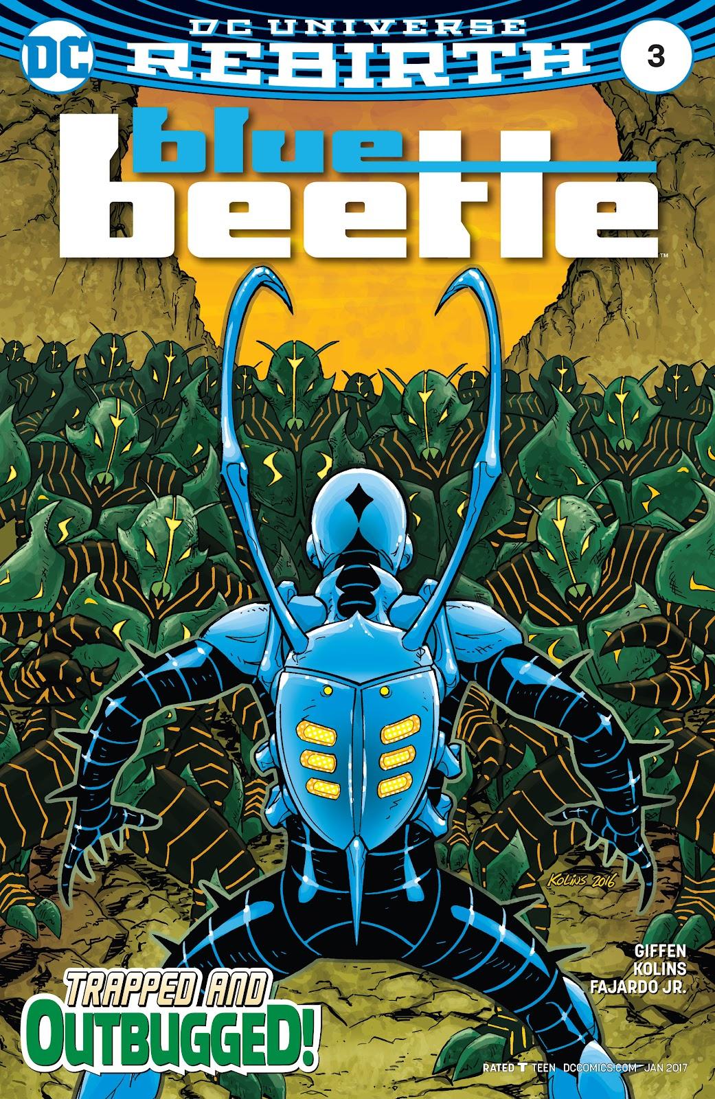 Blue Beetle (2016) 3 Page 1