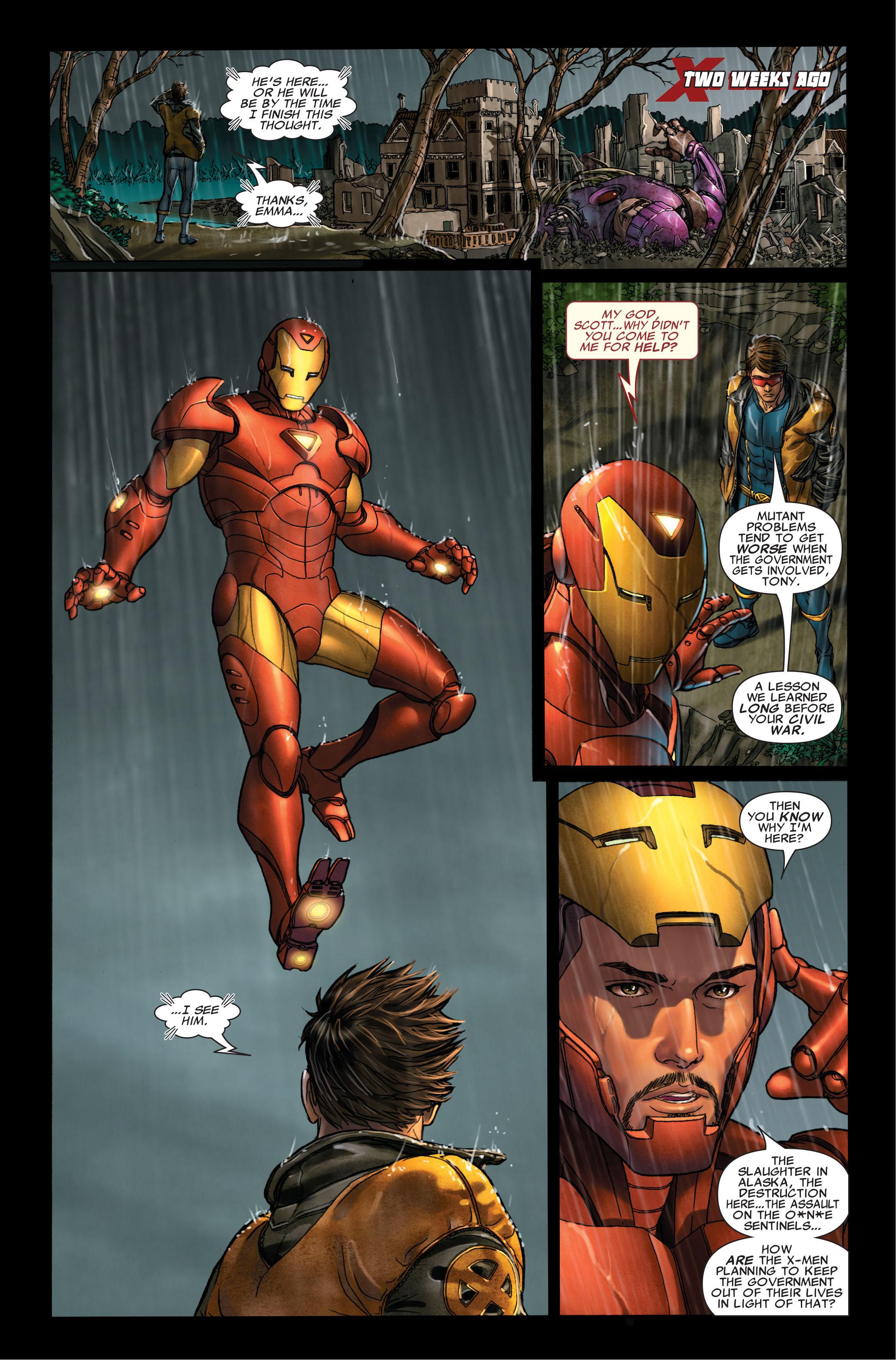 Read online Uncanny X-Men (1963) comic -  Issue #495 - 7