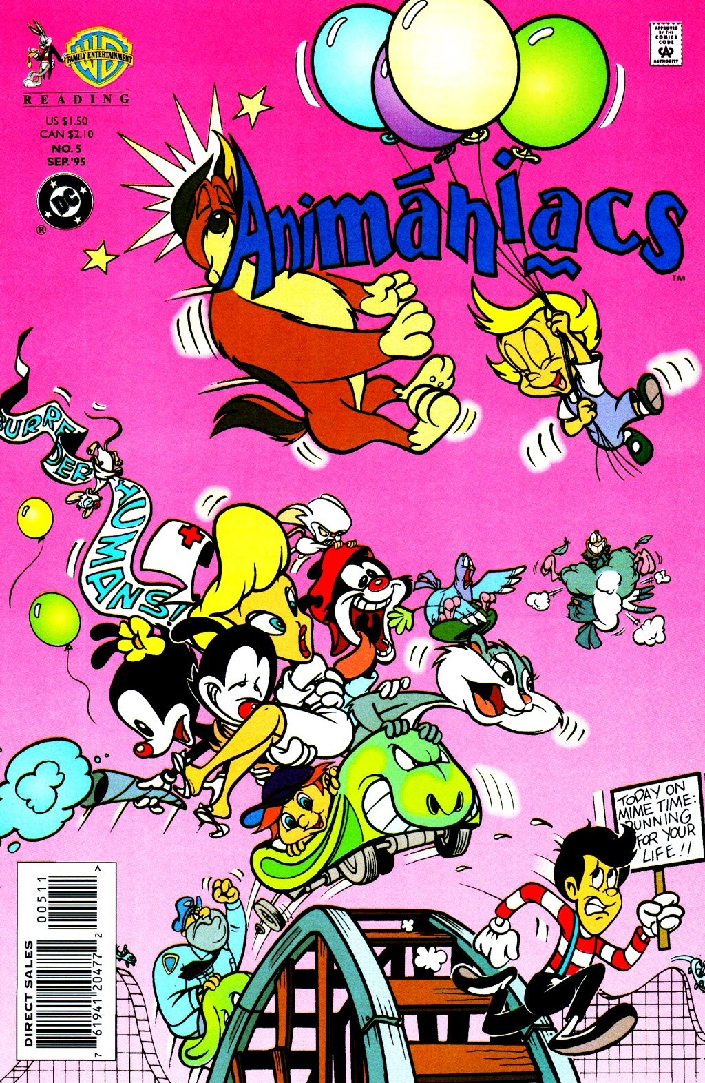 Animaniacs (1995) issue 5 - Page 1