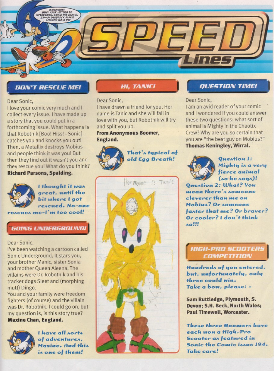 Read online Sonic the Comic comic -  Issue #200 - 2
