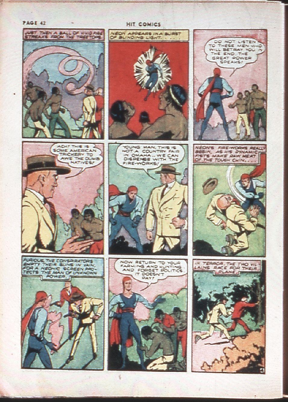 Read online Hit Comics comic -  Issue #10 - 44