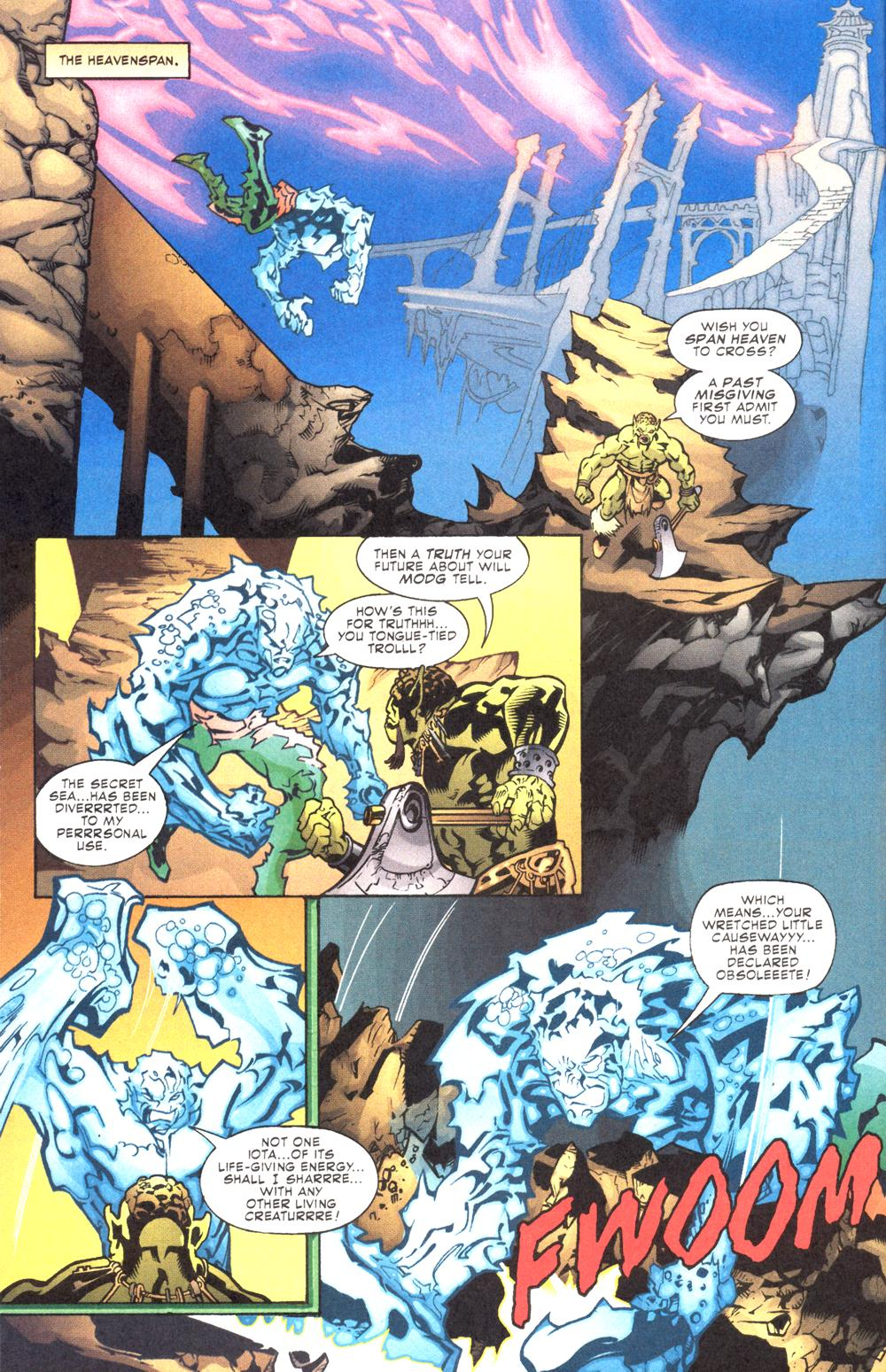 Read online Aquaman (2003) comic -  Issue #12 - 12