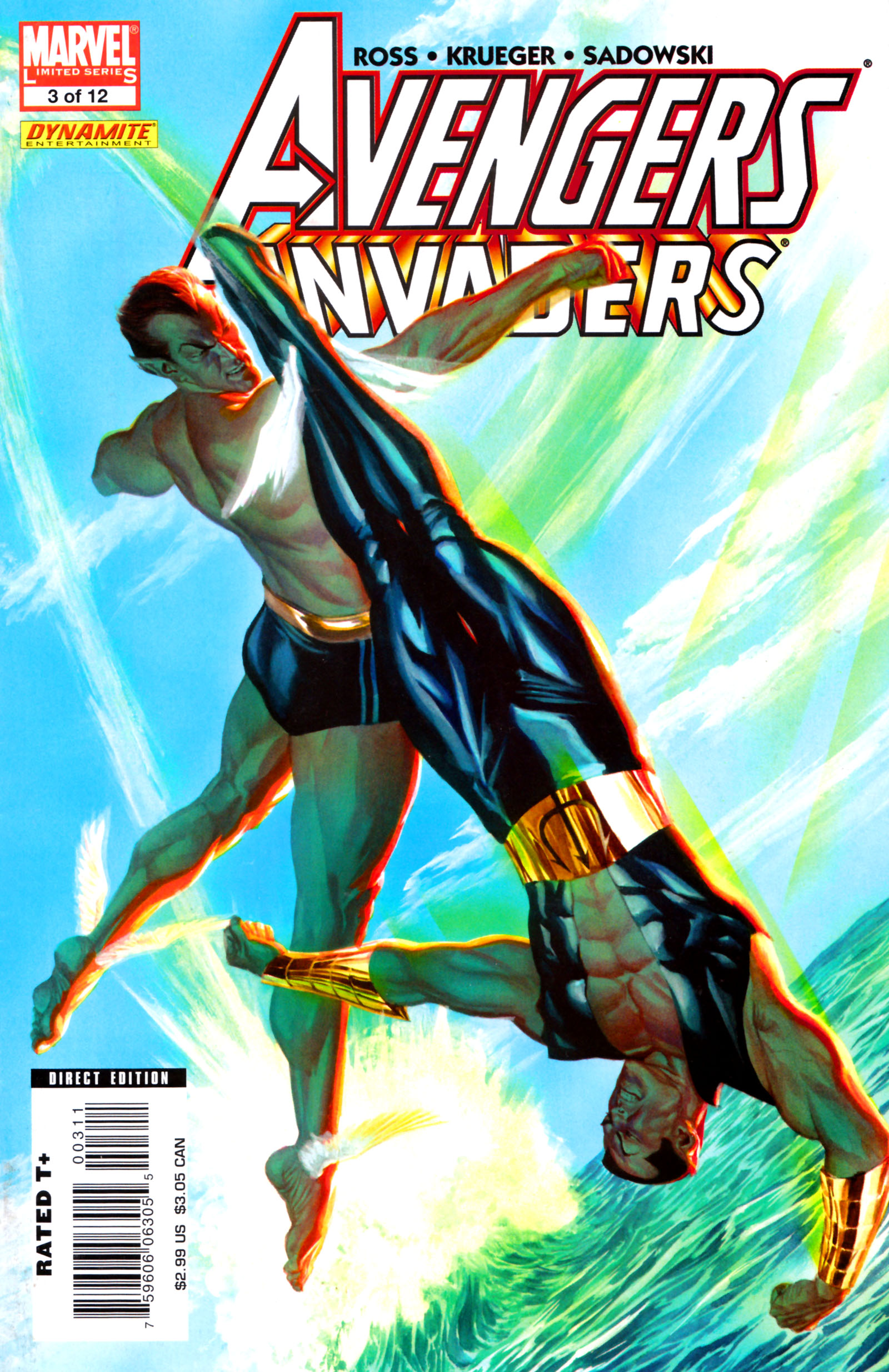 Avengers/Invaders 3 Page 1