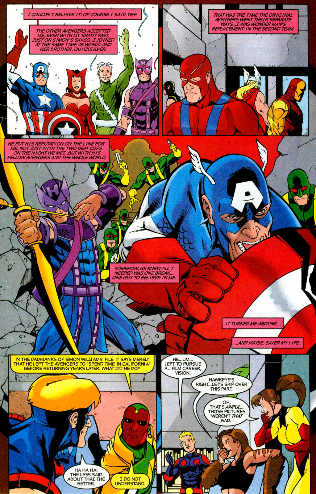 Read online Avengers United They Stand comic -  Issue #3 - 17