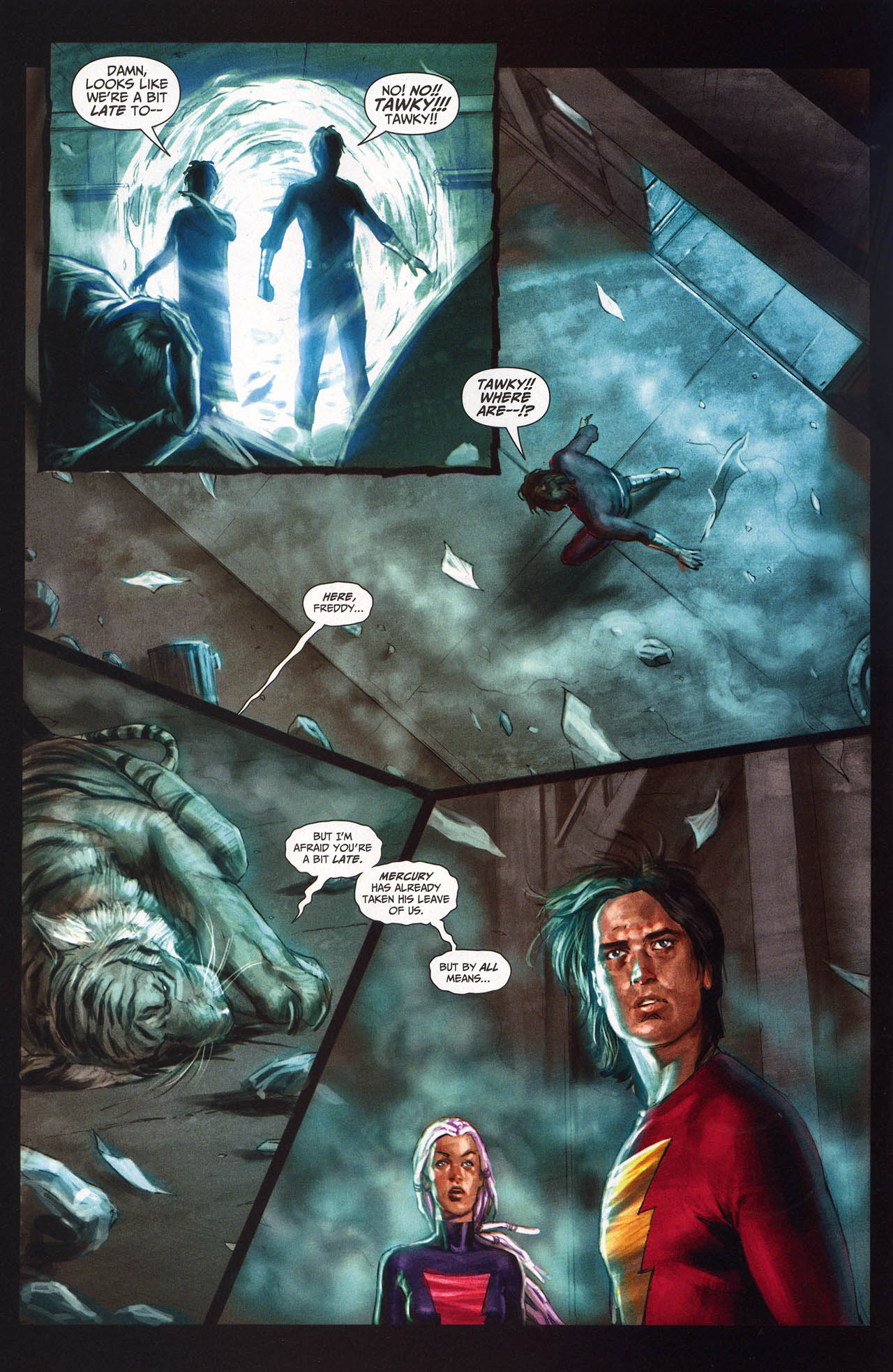 Read online Trials of Shazam comic -  Issue #10 - 29