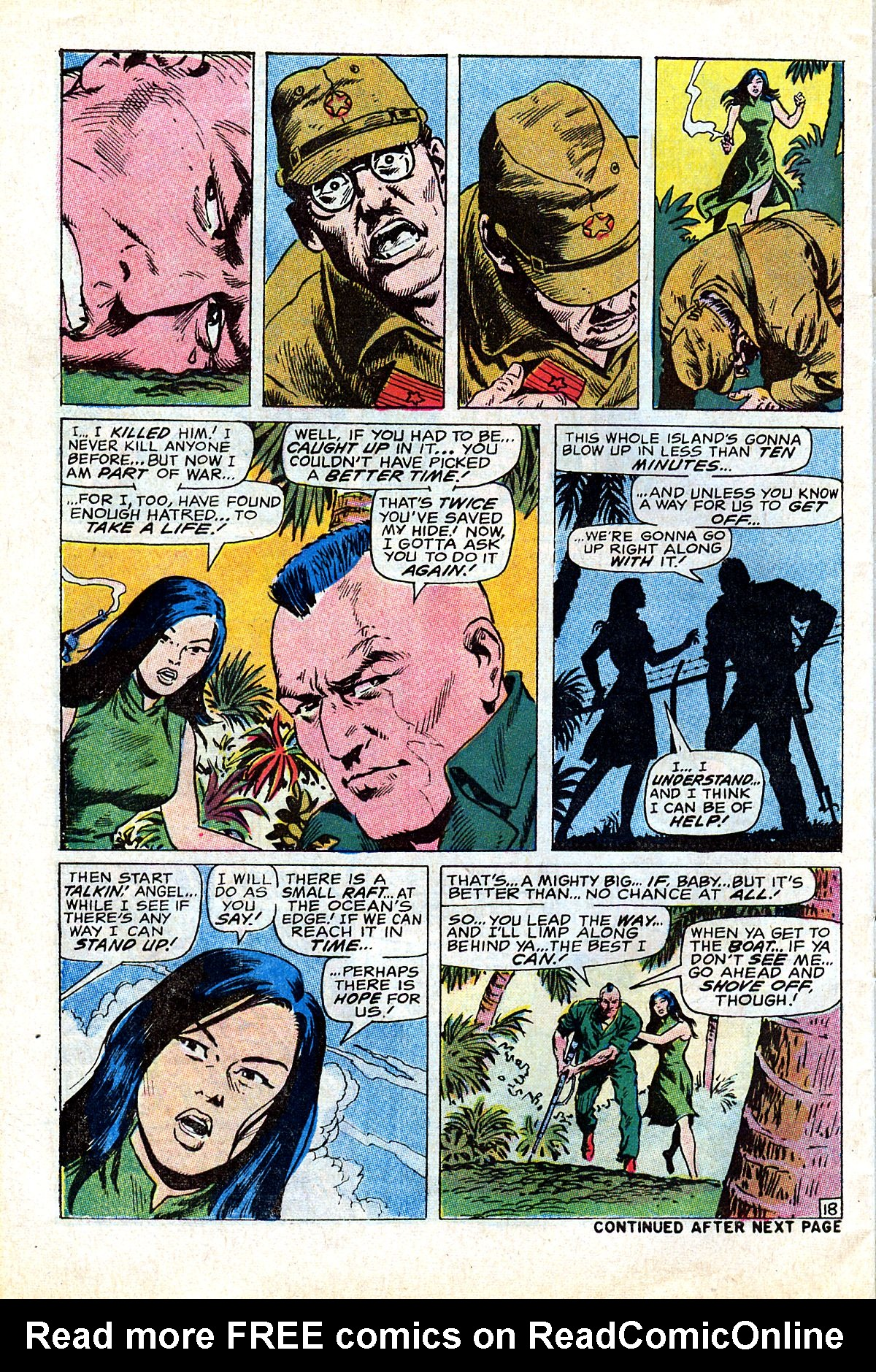 Captain Savage and his Leatherneck Raiders issue 17 - Page 30
