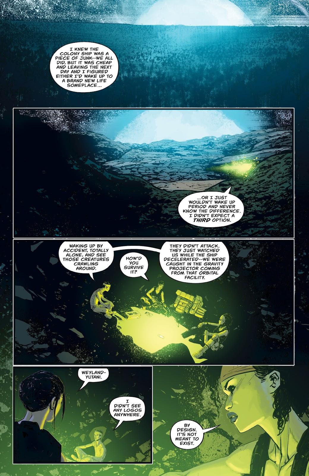 Read online Aliens: Resistance comic -  Issue #4 - 10