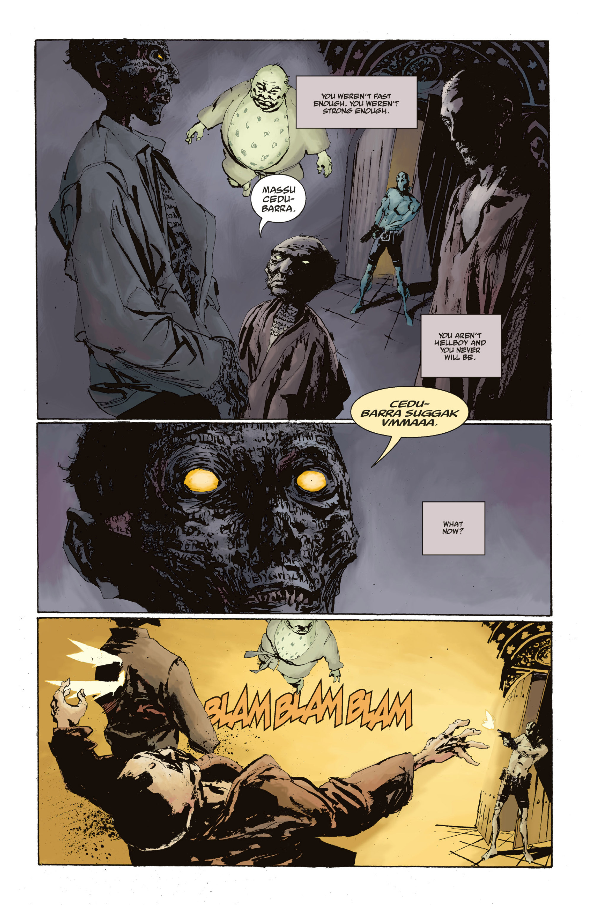Read online Abe Sapien: The Drowning comic -  Issue #Abe Sapien: The Drowning _TPB - 123