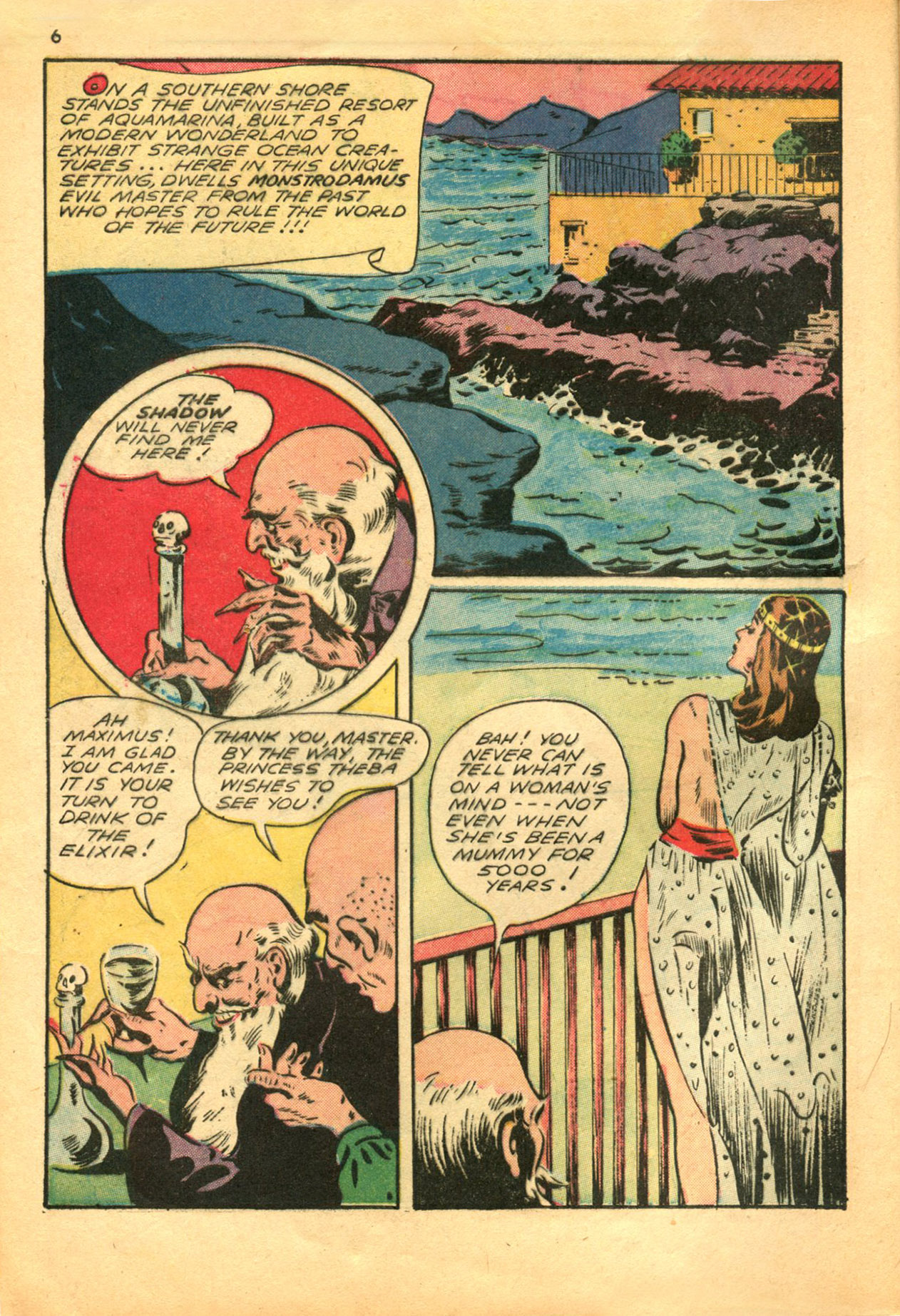 Read online Shadow Comics comic -  Issue #30 - 6