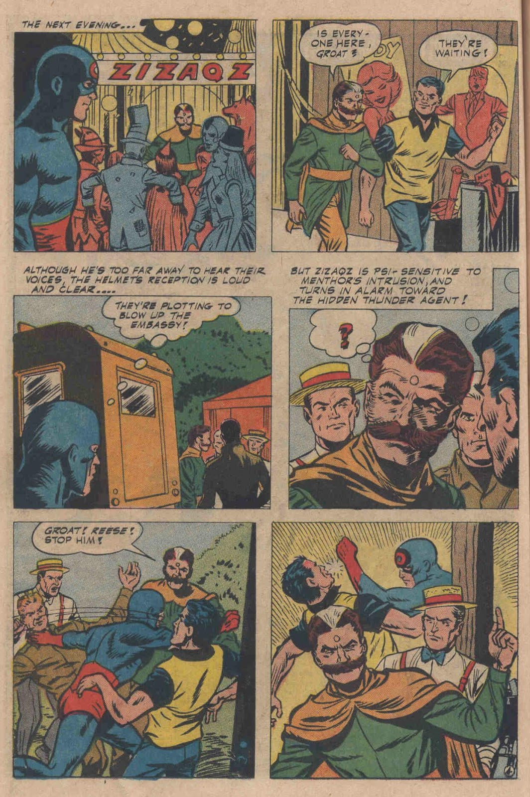 T.H.U.N.D.E.R. Agents (1965) issue 6 - Page 48