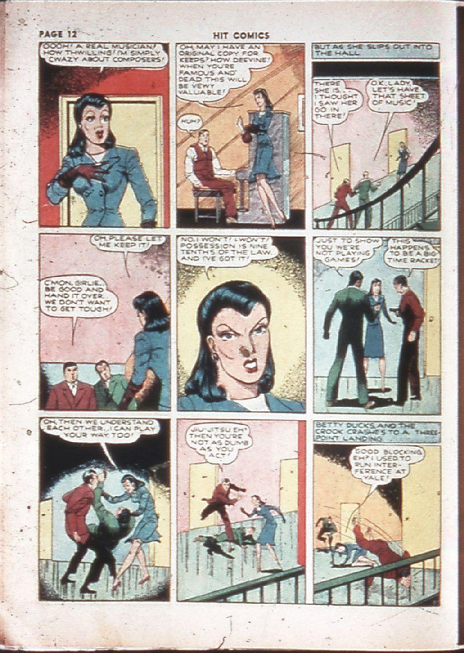 Read online Hit Comics comic -  Issue #10 - 14