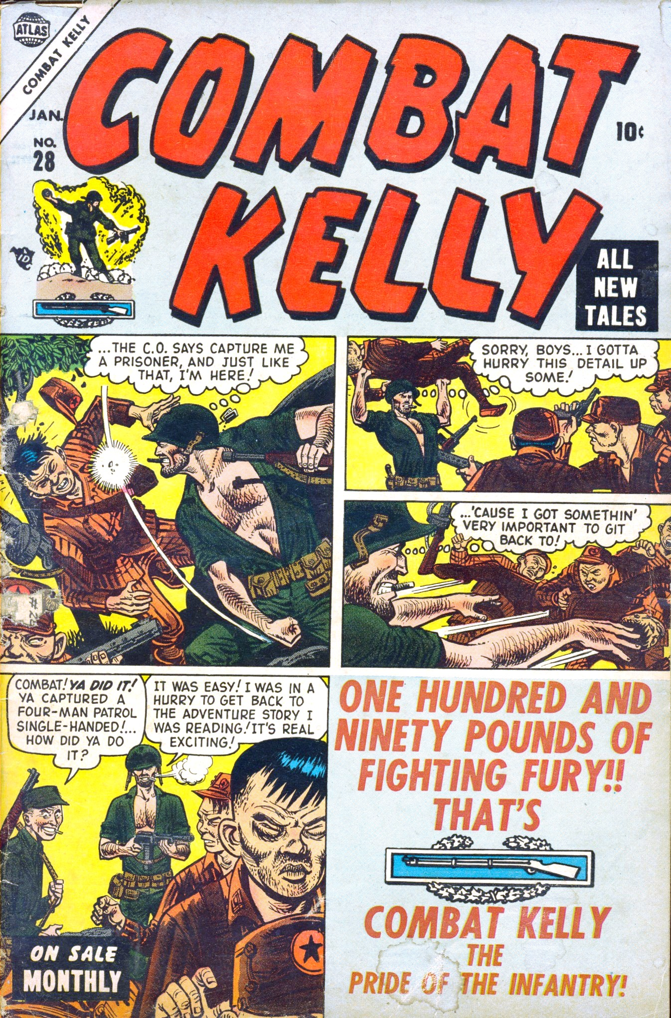 Combat Kelly (1951) issue 28 - Page 1