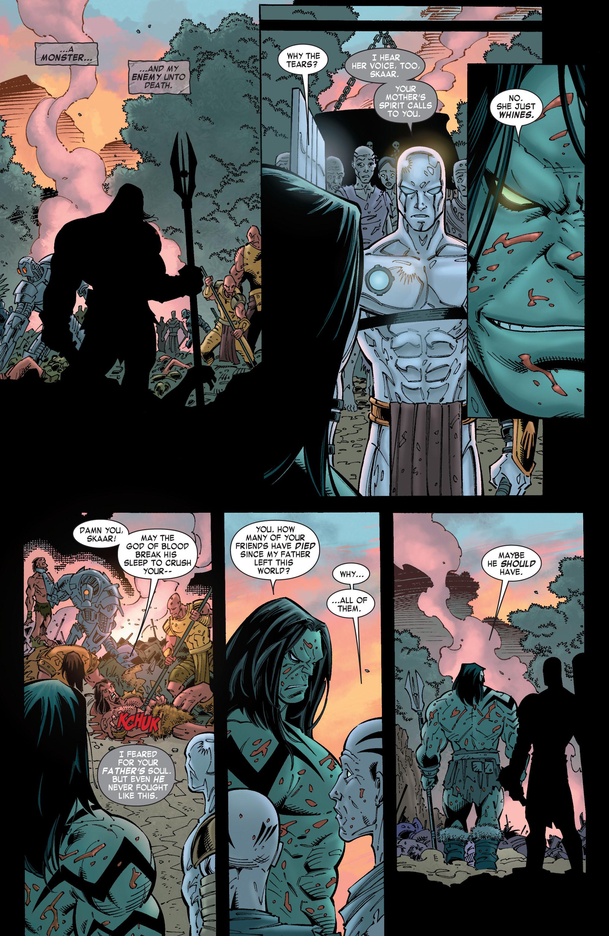 Read online Skaar: Son of Hulk comic -  Issue #8 - 12