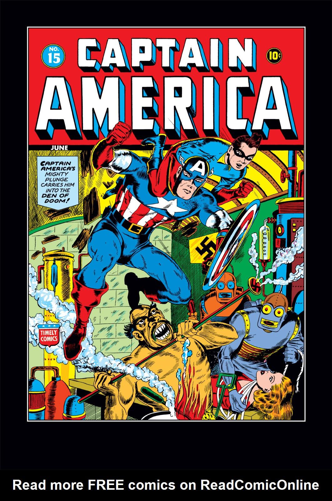 Captain America Comics 15 Page 1