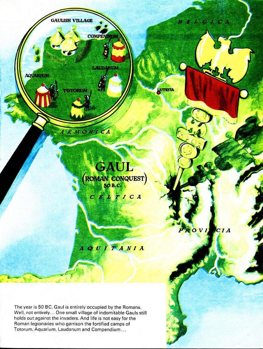 Read online Asterix comic -  Issue #15 - 4
