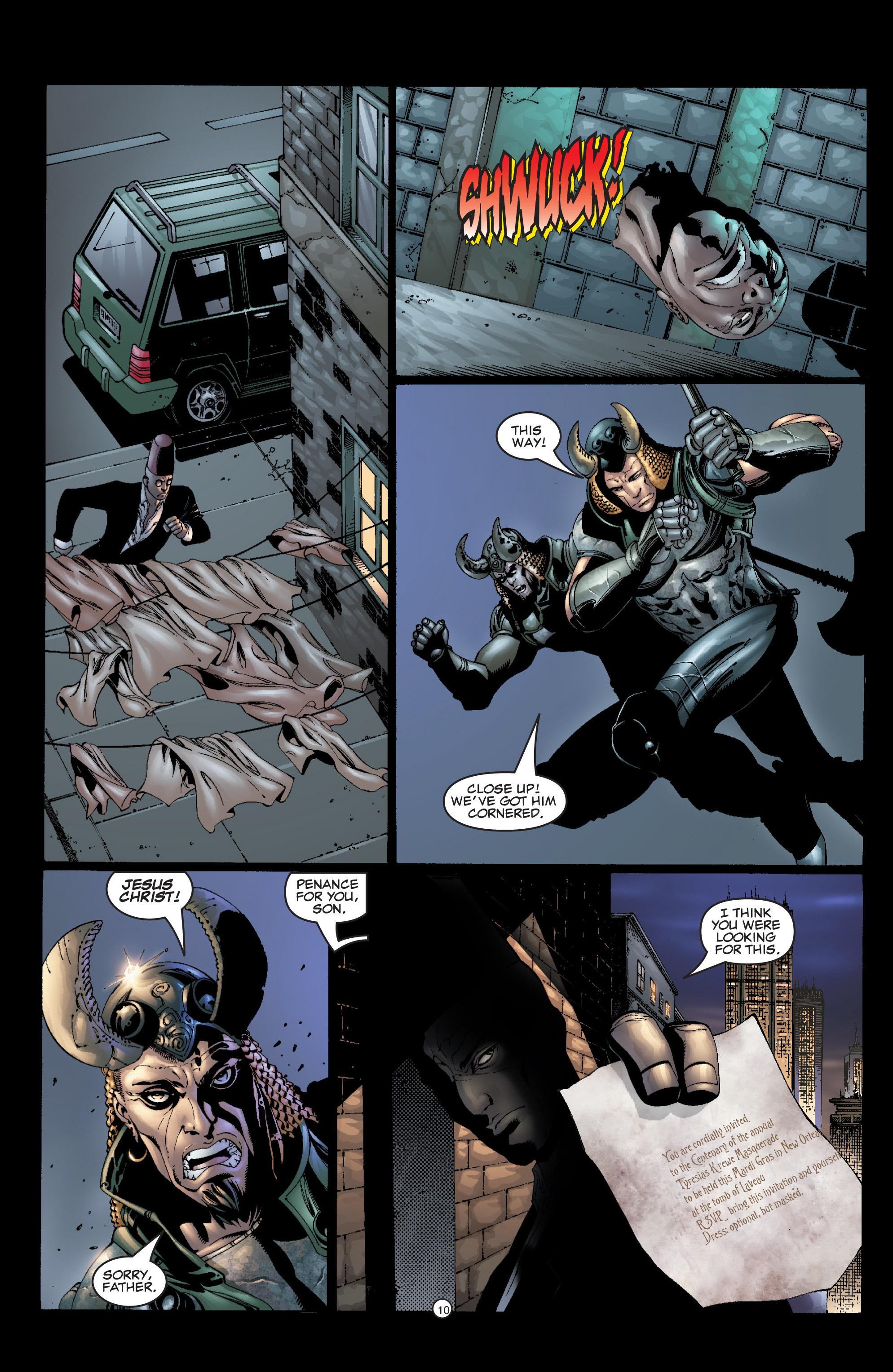 Read online Shadowman (1999) comic -  Issue #6 - 12