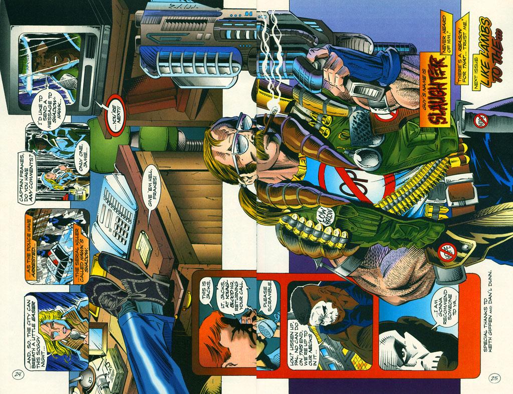 Read online ShadowHawk comic -  Issue #6 - 32
