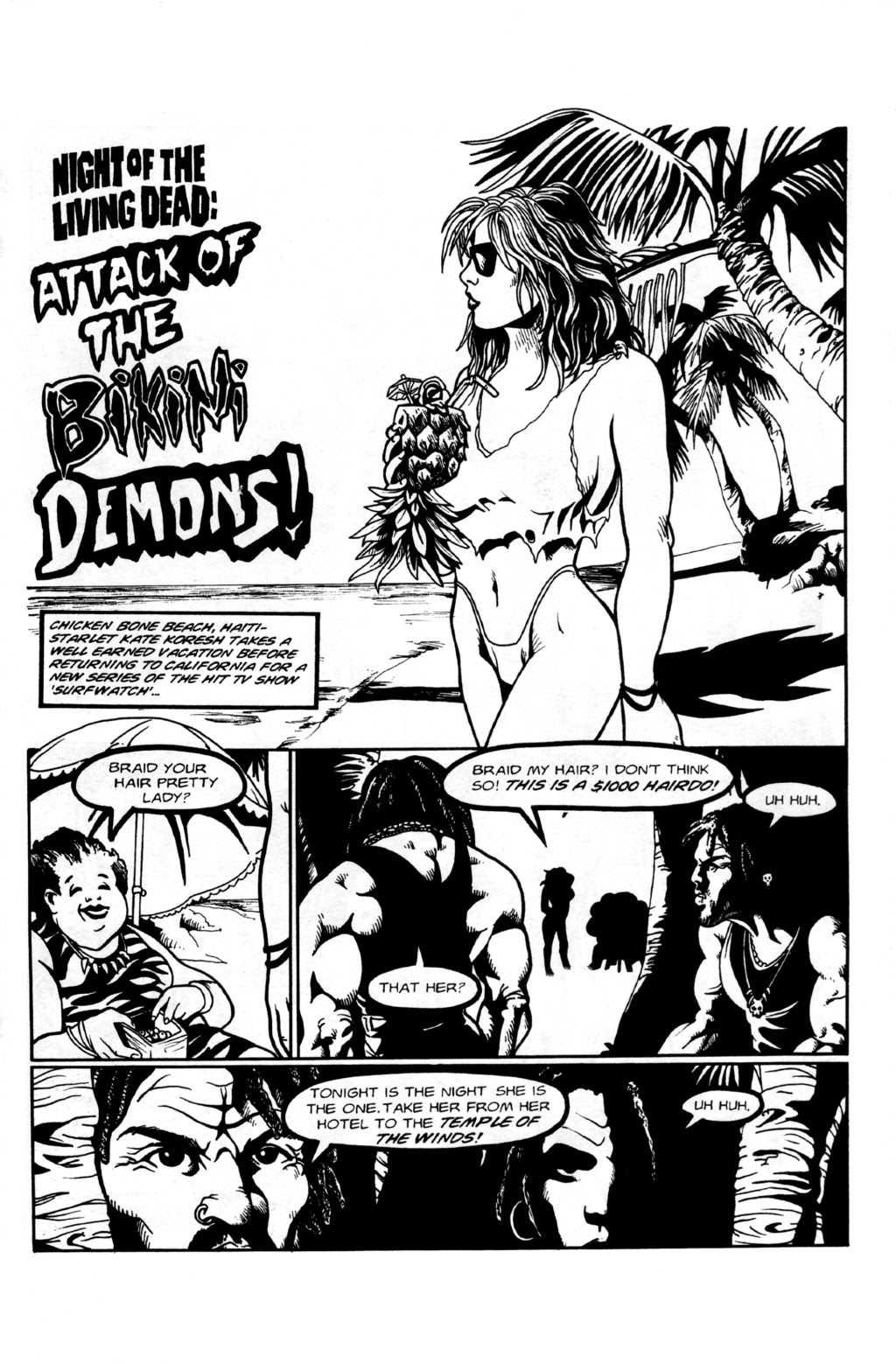 Read online Night of the Living Dead (1994) comic -  Issue #0 - 3