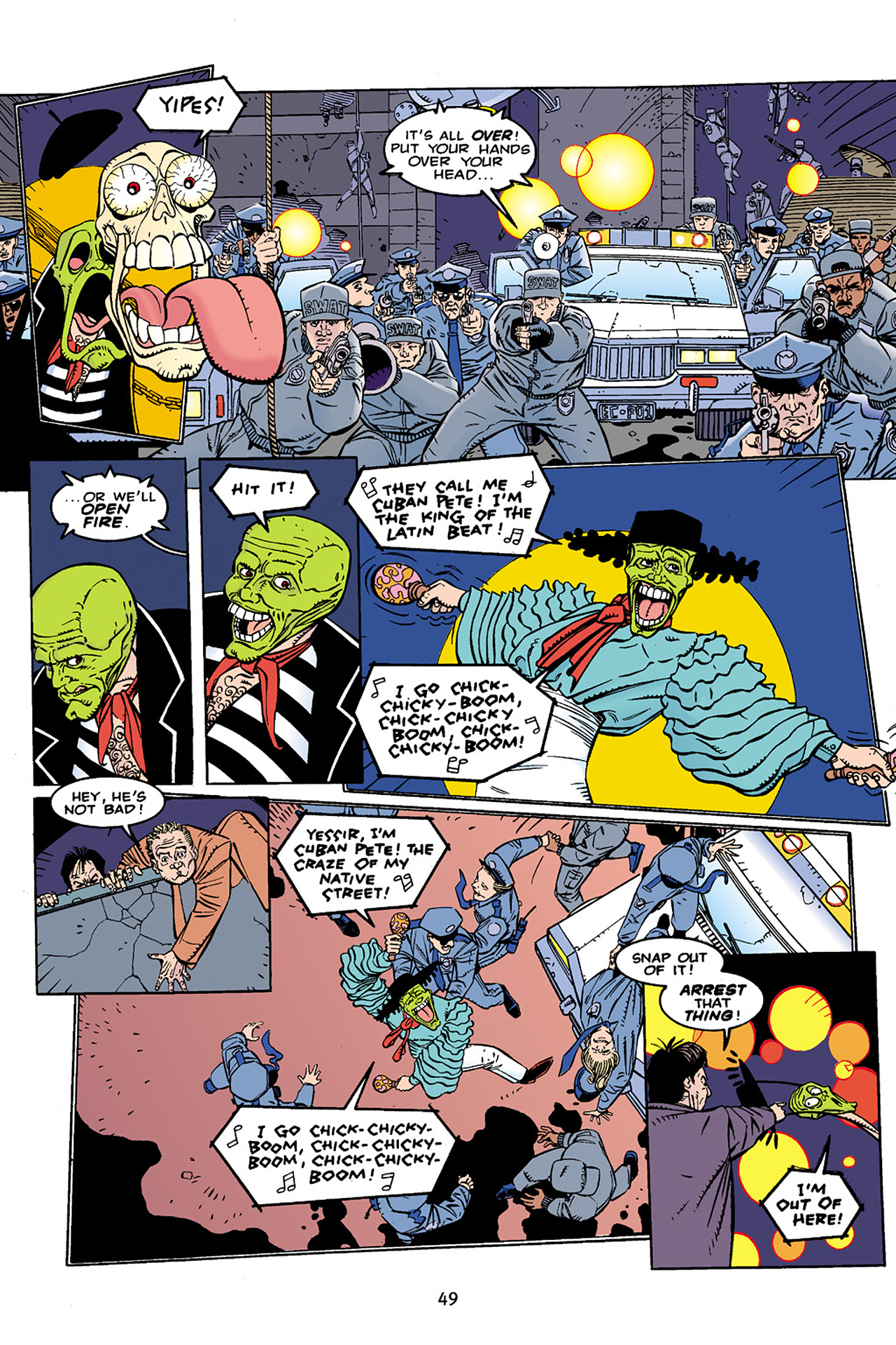 Read online Adventures Of The Mask Omnibus comic -  Issue #Adventures Of The Mask Omnibus Full - 49