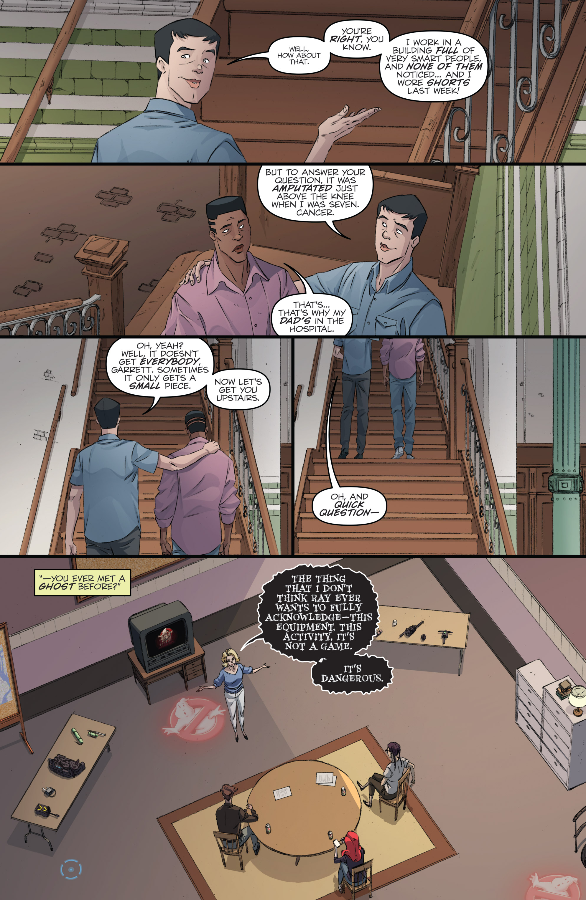 Read online Ghostbusters 101 comic -  Issue #2 - 16