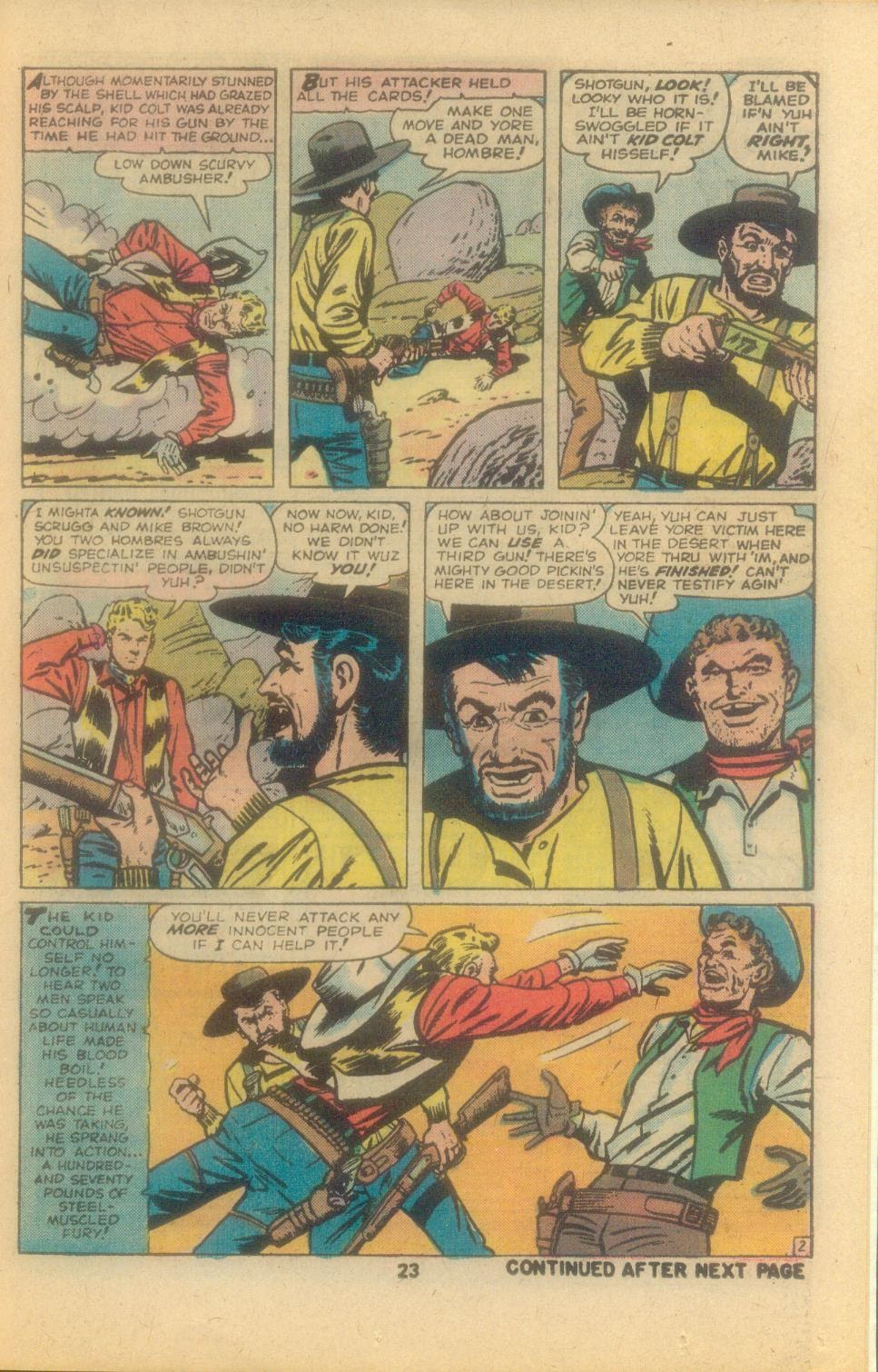 Kid Colt Outlaw issue 209 - Page 25