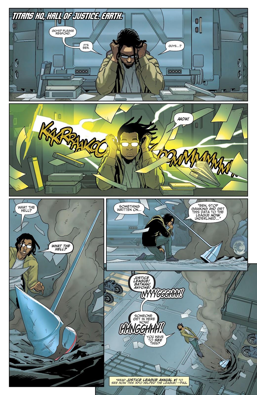 Read online Titans (2016) comic -  Issue #35 - 19