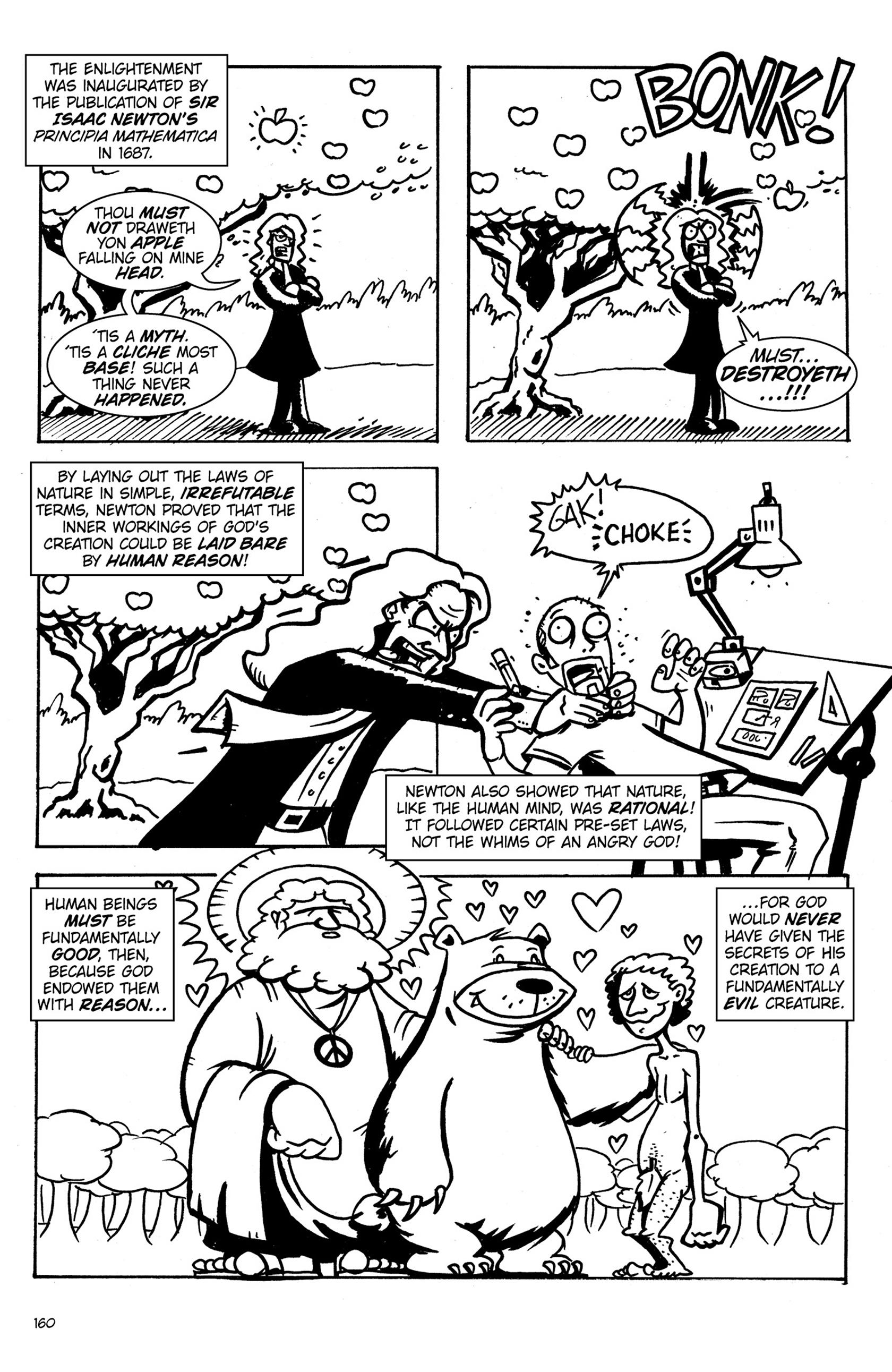 Read online Action Philosophers! comic -  Issue #Action Philosophers! TPB (Part 1) - 158