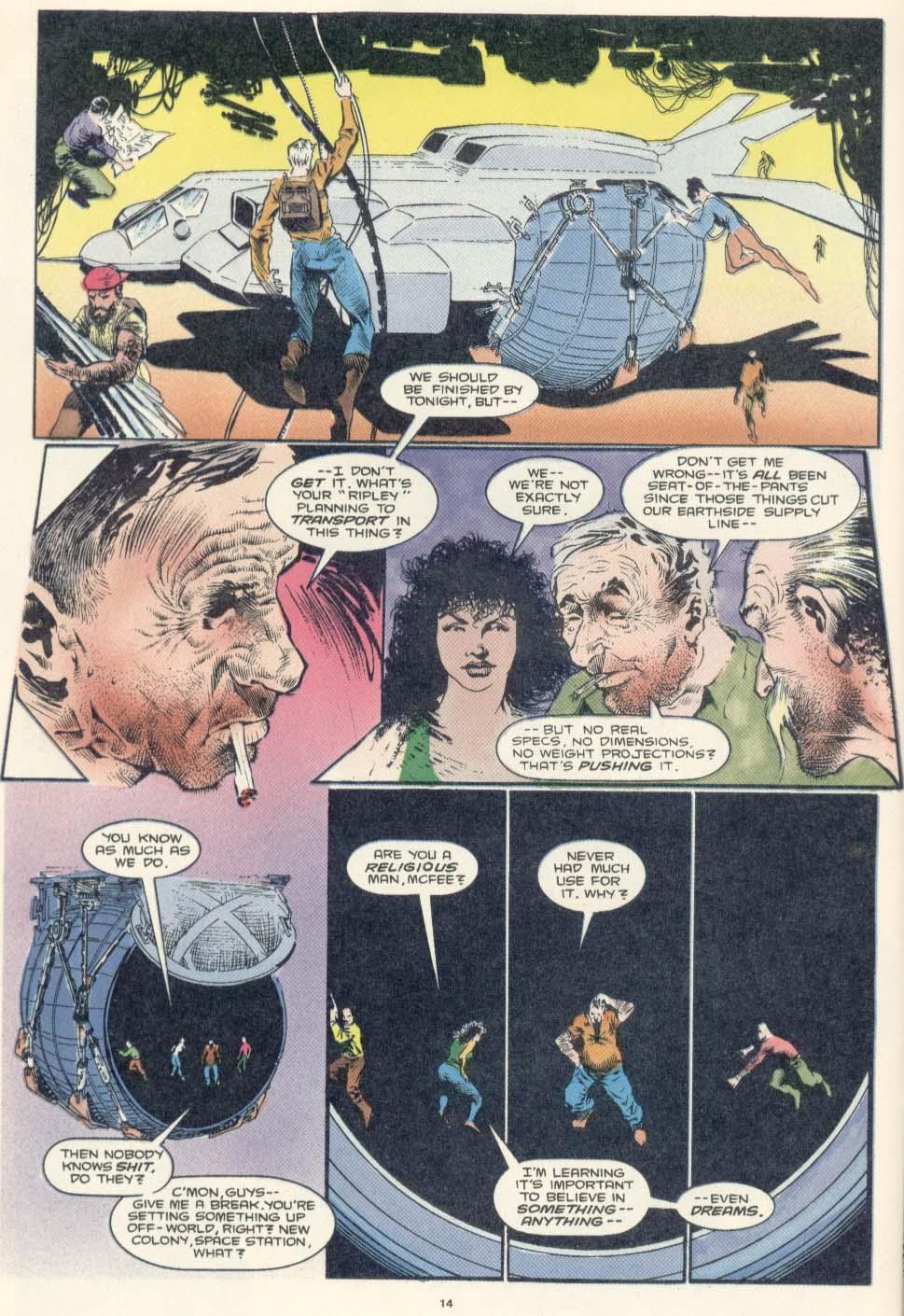 Read online Aliens: Earth War comic -  Issue #2 - 16