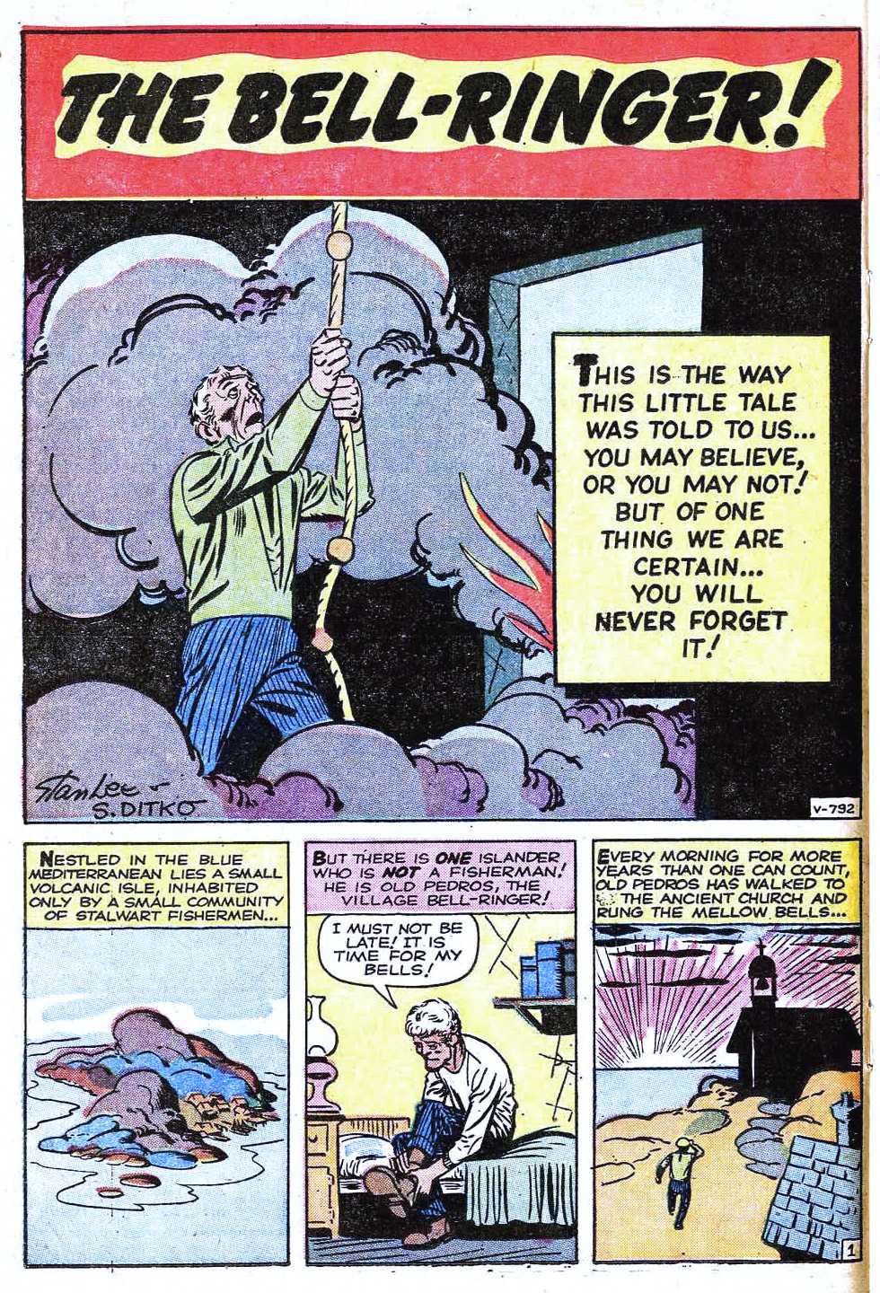 Read online Amazing Fantasy (1962) comic -  Issue #15 - 16