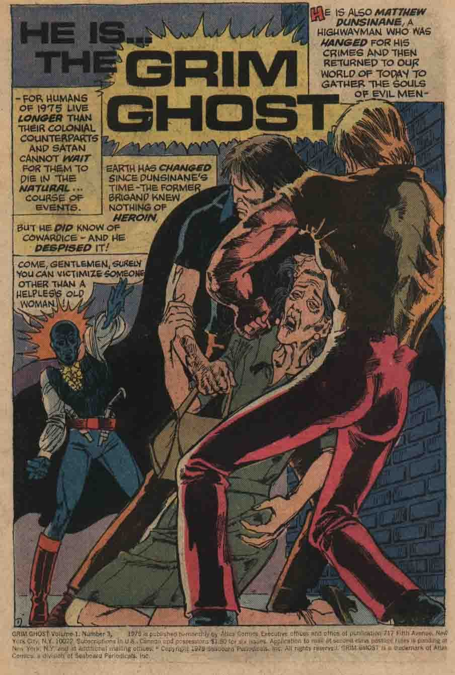The Grim Ghost (1975) issue 3 - Page 2