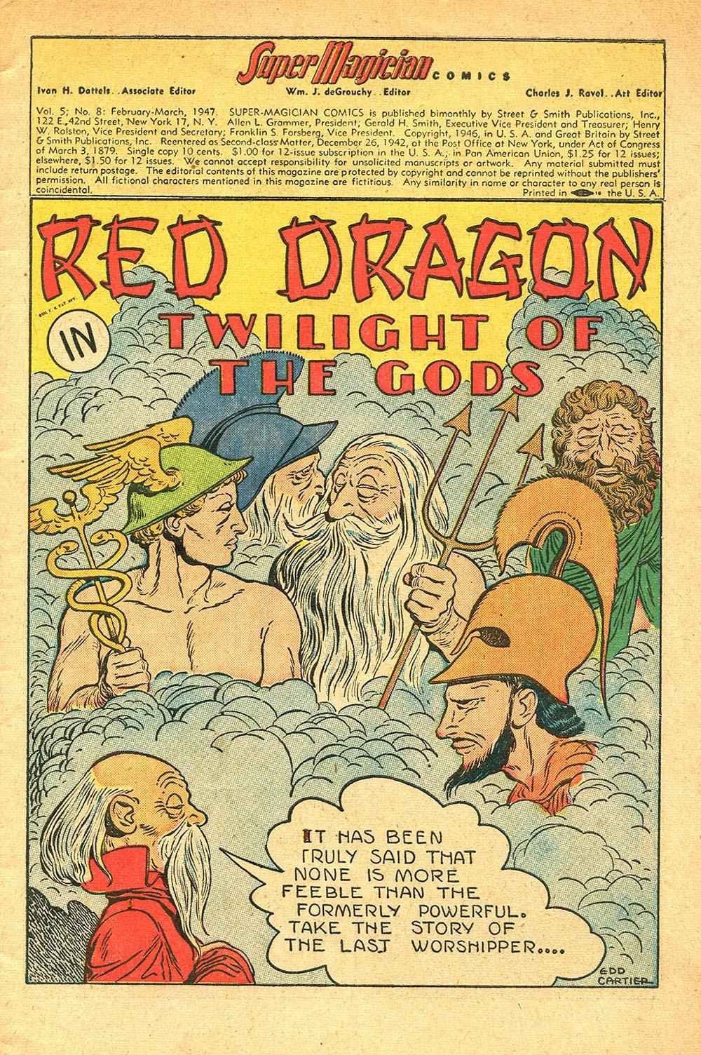 Read online Super-Magician Comics comic -  Issue #56 - 3