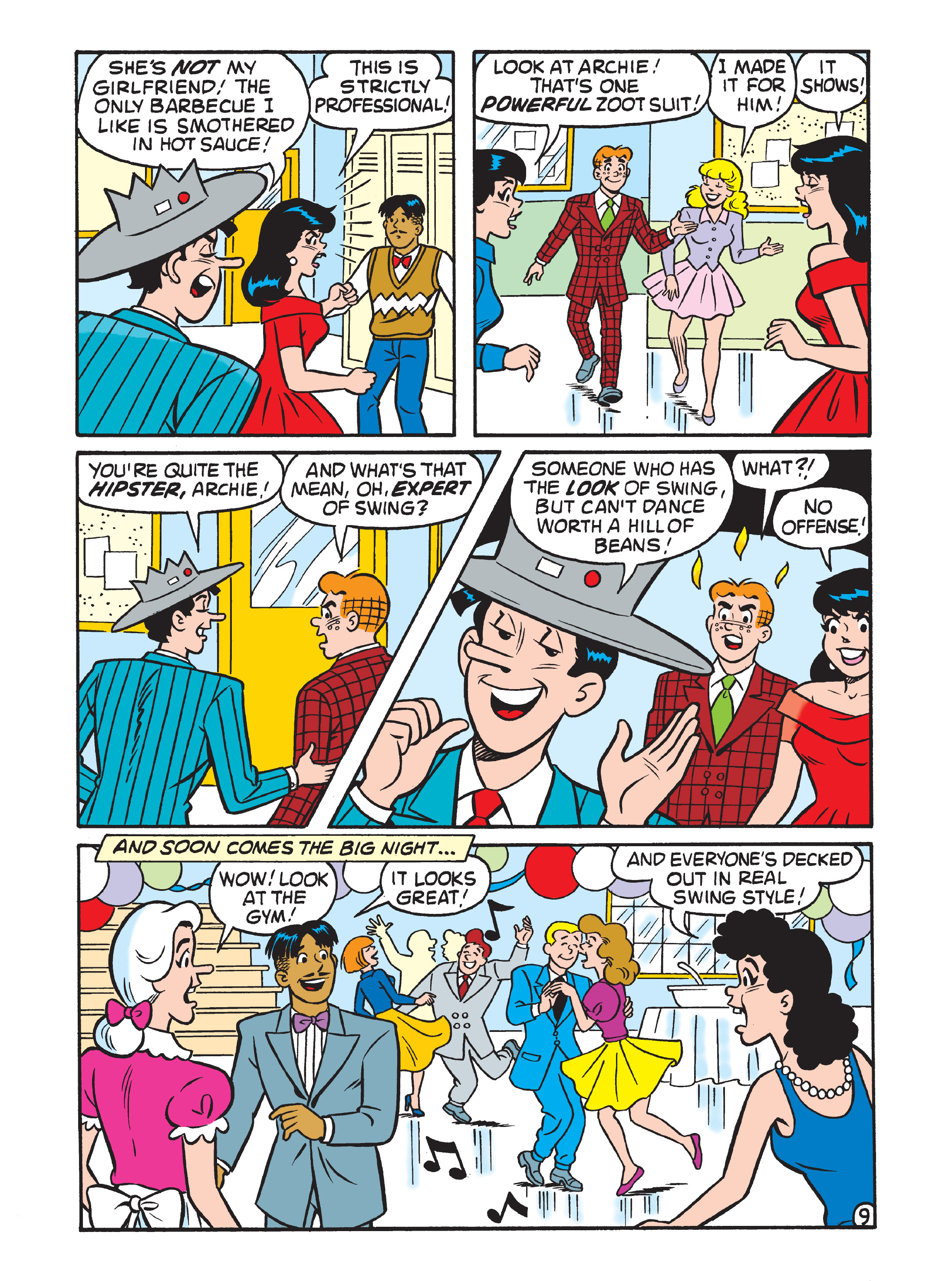 Read online Archie 75th Anniversary Digest comic -  Issue #5 - 213