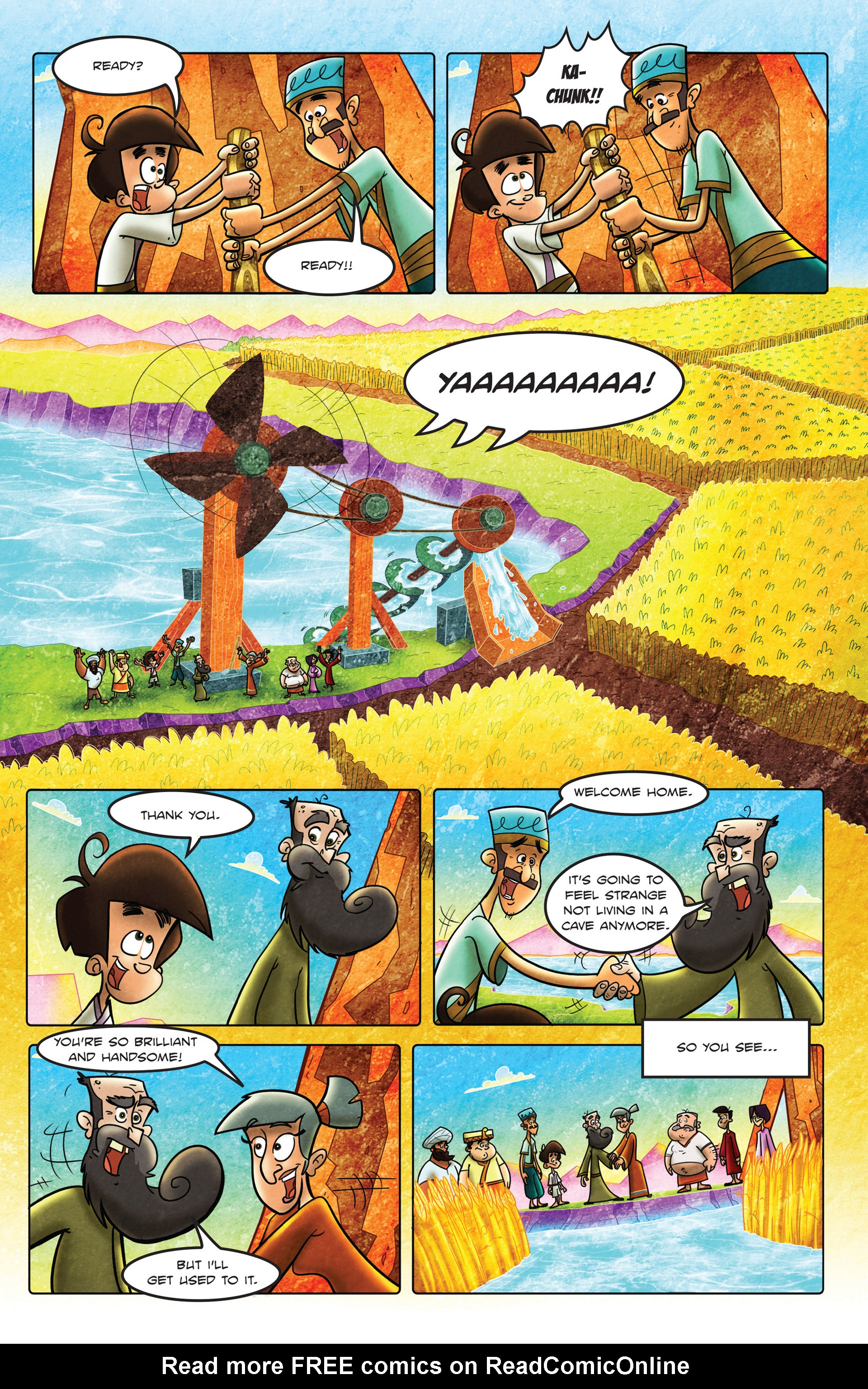 Read online 1001 Nights comic -  Issue #2 - 24