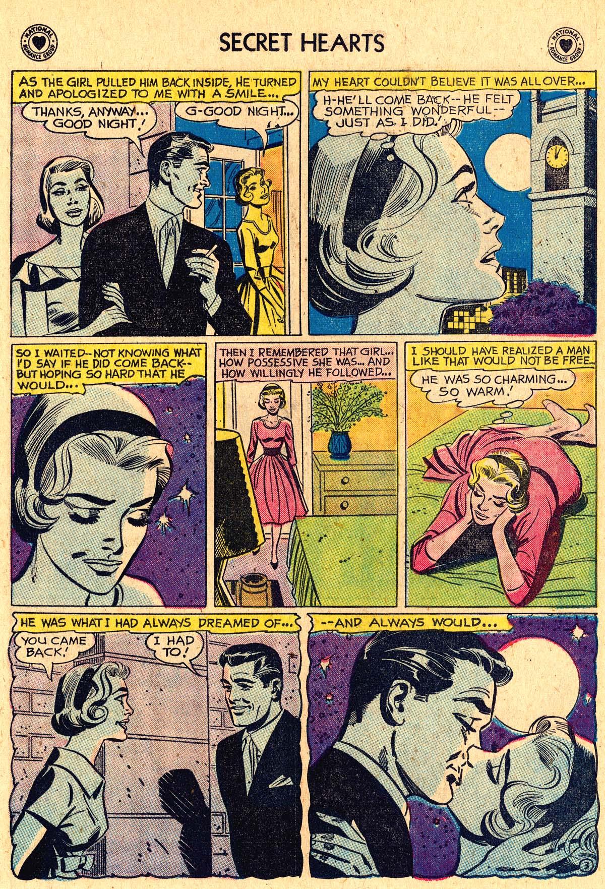 Read online Secret Hearts comic -  Issue #60 - 20