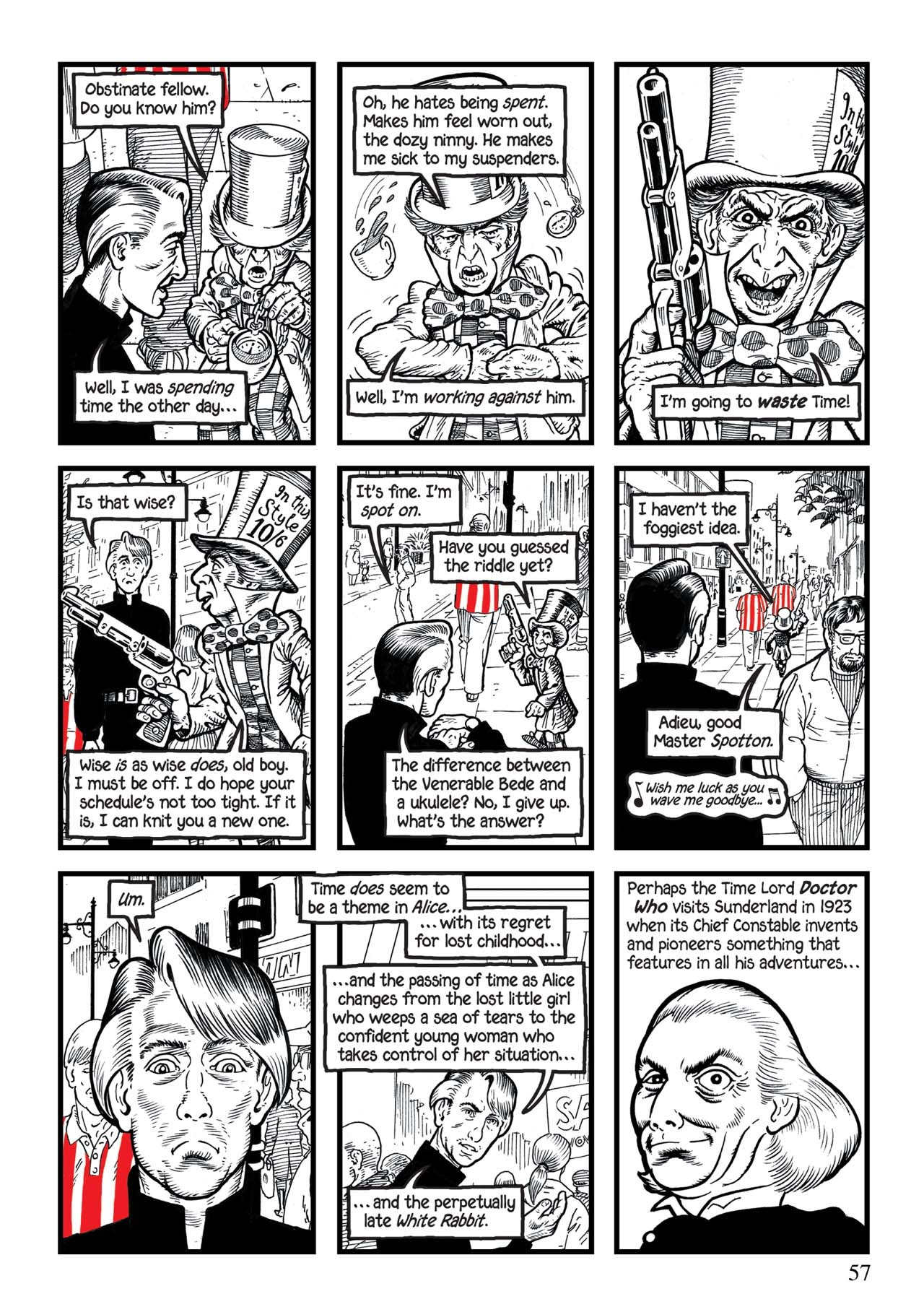 Read online Alice in Sunderland comic -  Issue # Full - 61