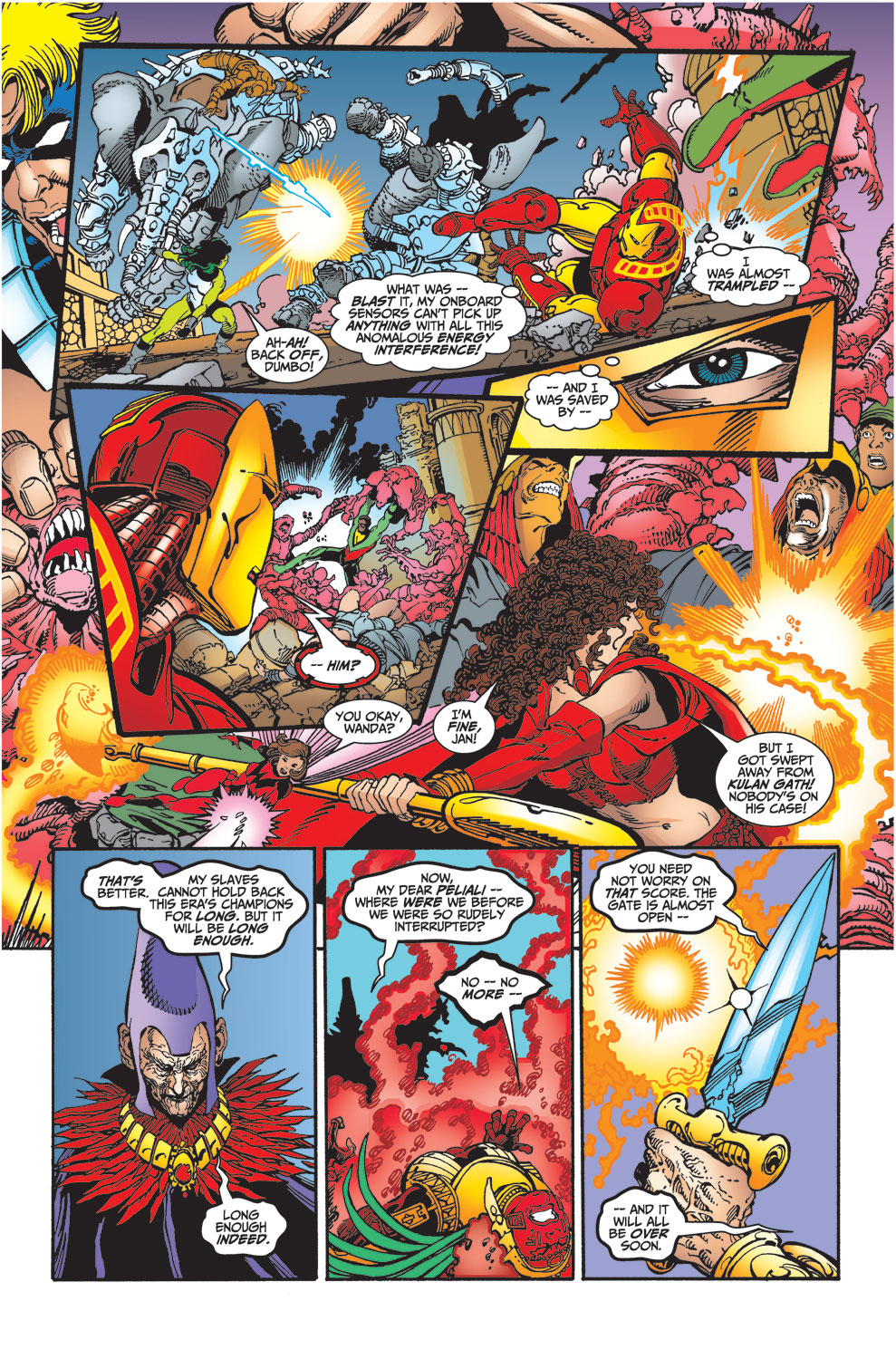 Read online Avengers (1998) comic -  Issue #30 - 16