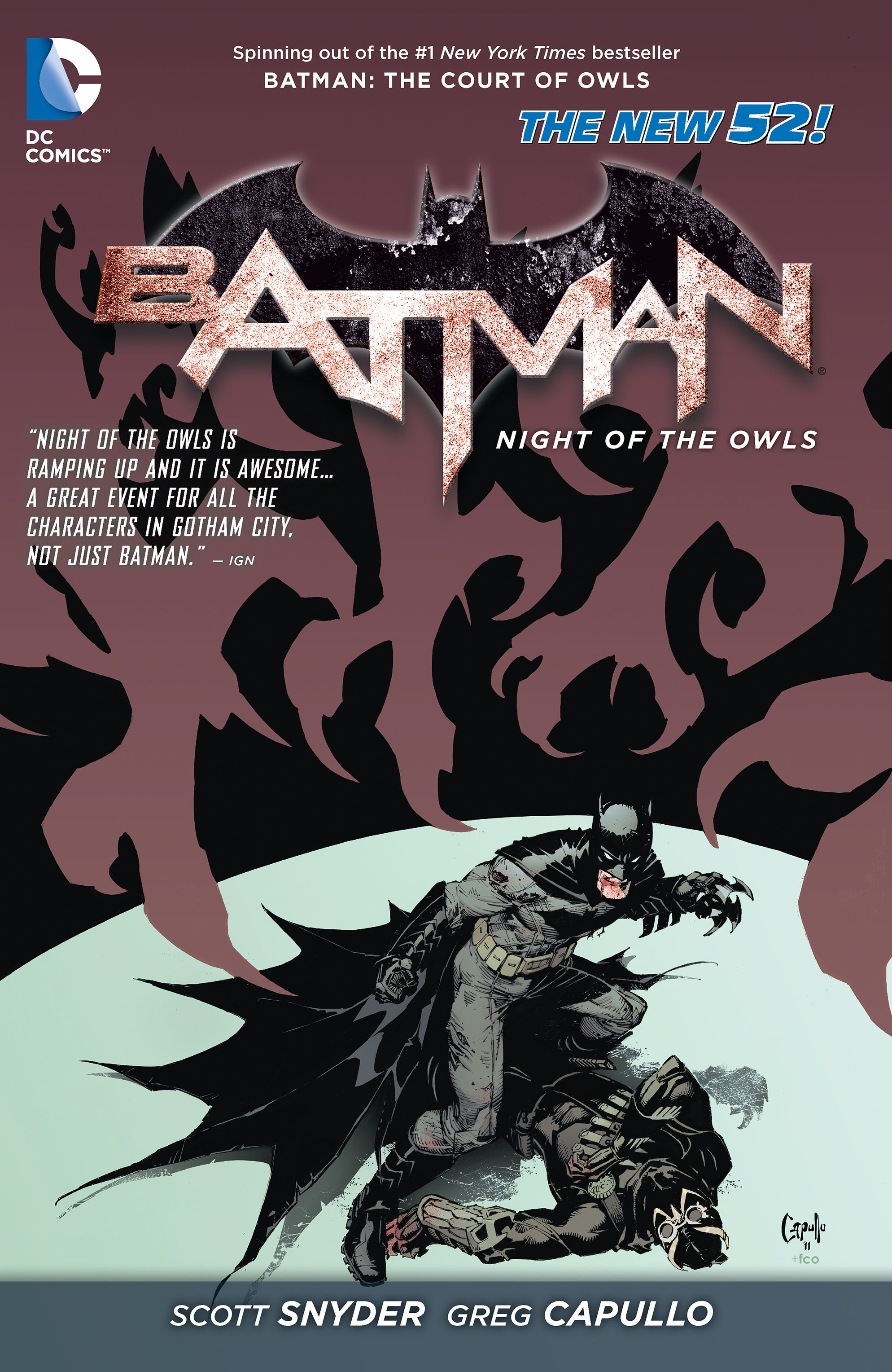 Batman: Night of the Owls Full Page 1