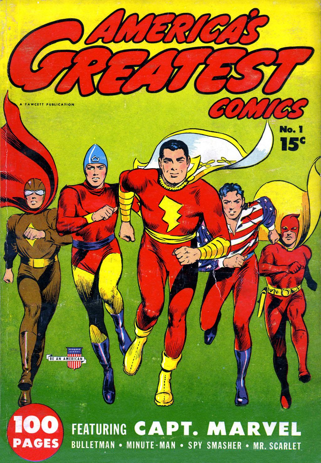 Read online America's Greatest Comics comic -  Issue #1 - 1