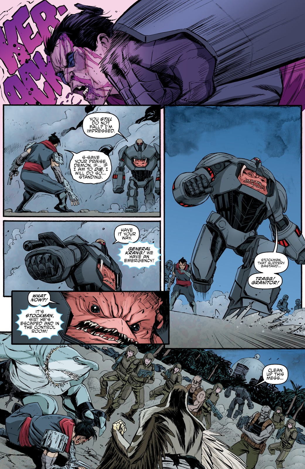 Read online Teenage Mutant Ninja Turtles: The IDW Collection comic -  Issue # TPB 5 (Part 4) - 28