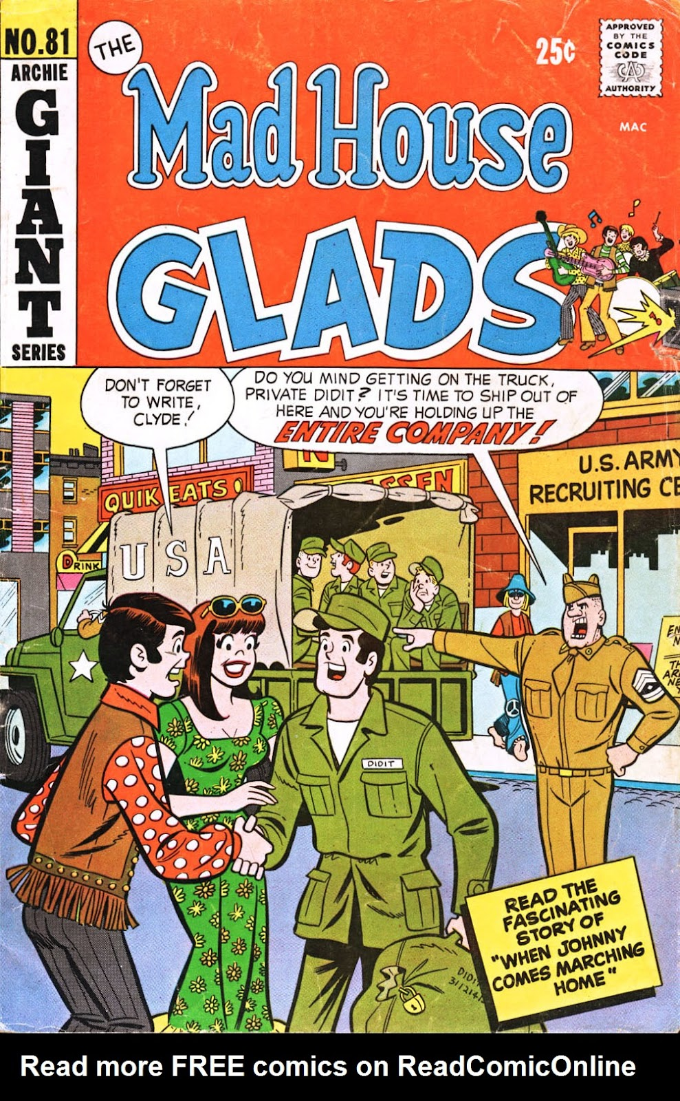 Read online The Mad House Glads comic -  Issue #81 - 1