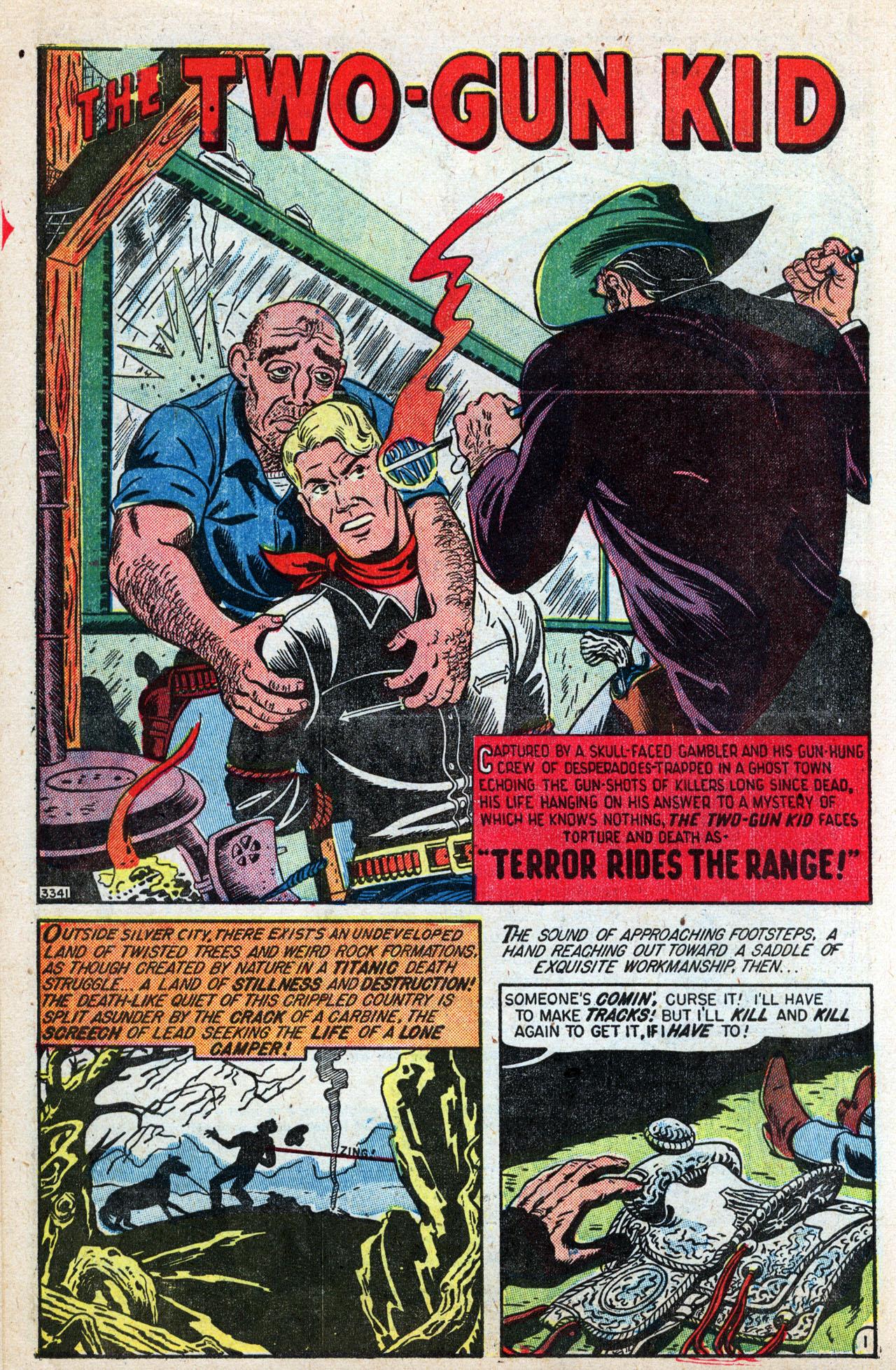 Read online Two-Gun Kid comic -  Issue #4 - 14
