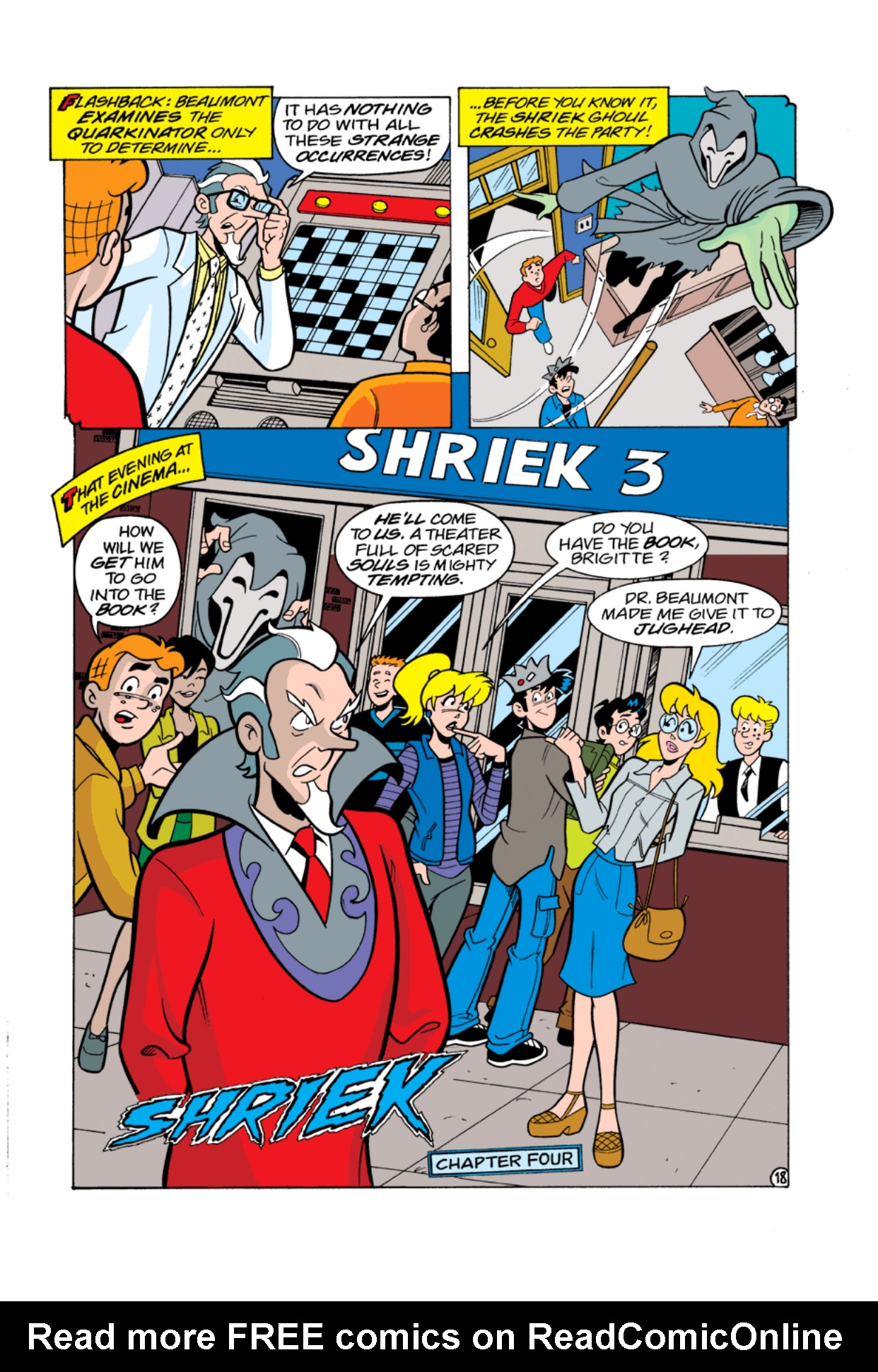 Read online Archie's Weird Mysteries comic -  Issue #2 - 18