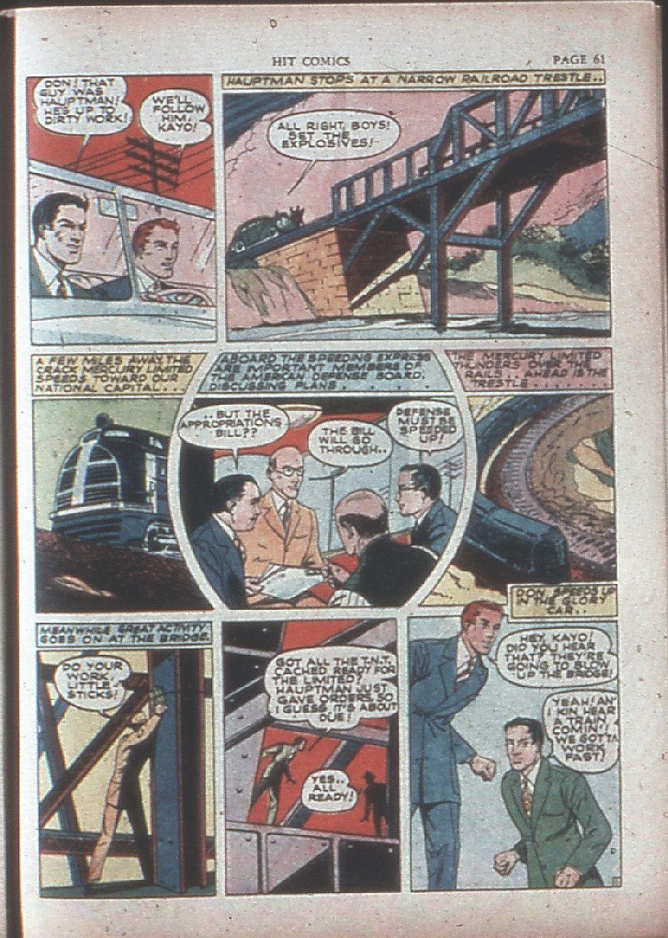 Read online Hit Comics comic -  Issue #15 - 63
