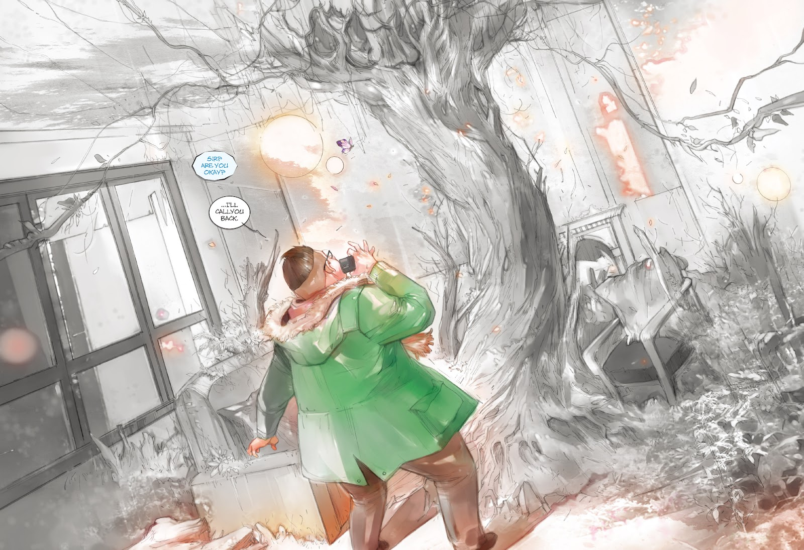 Read online Makeshift Miracle: The Girl From Nowhere comic -  Issue #7 - 4