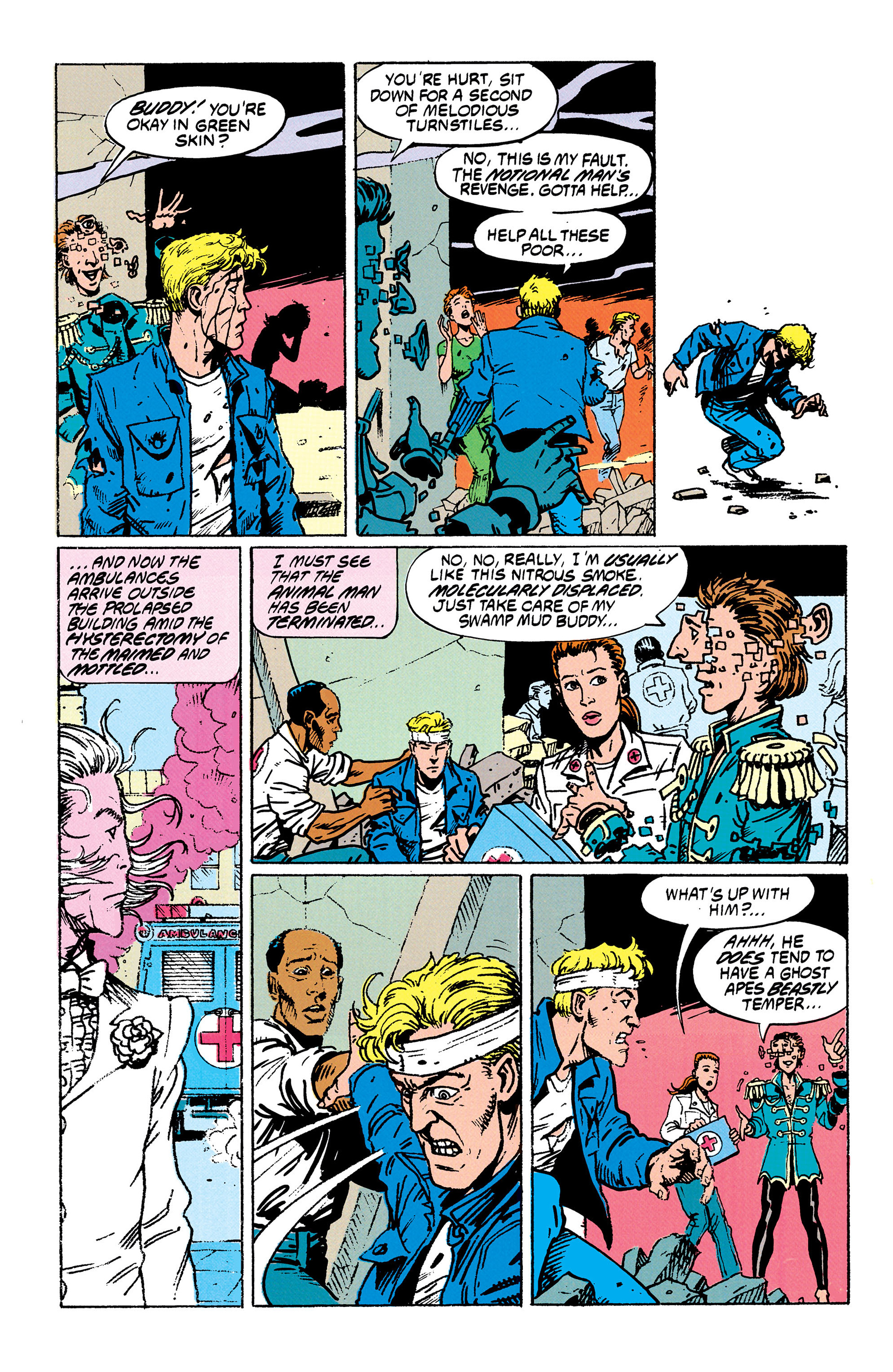 Read online Animal Man (1988) comic -  Issue #29 - 4