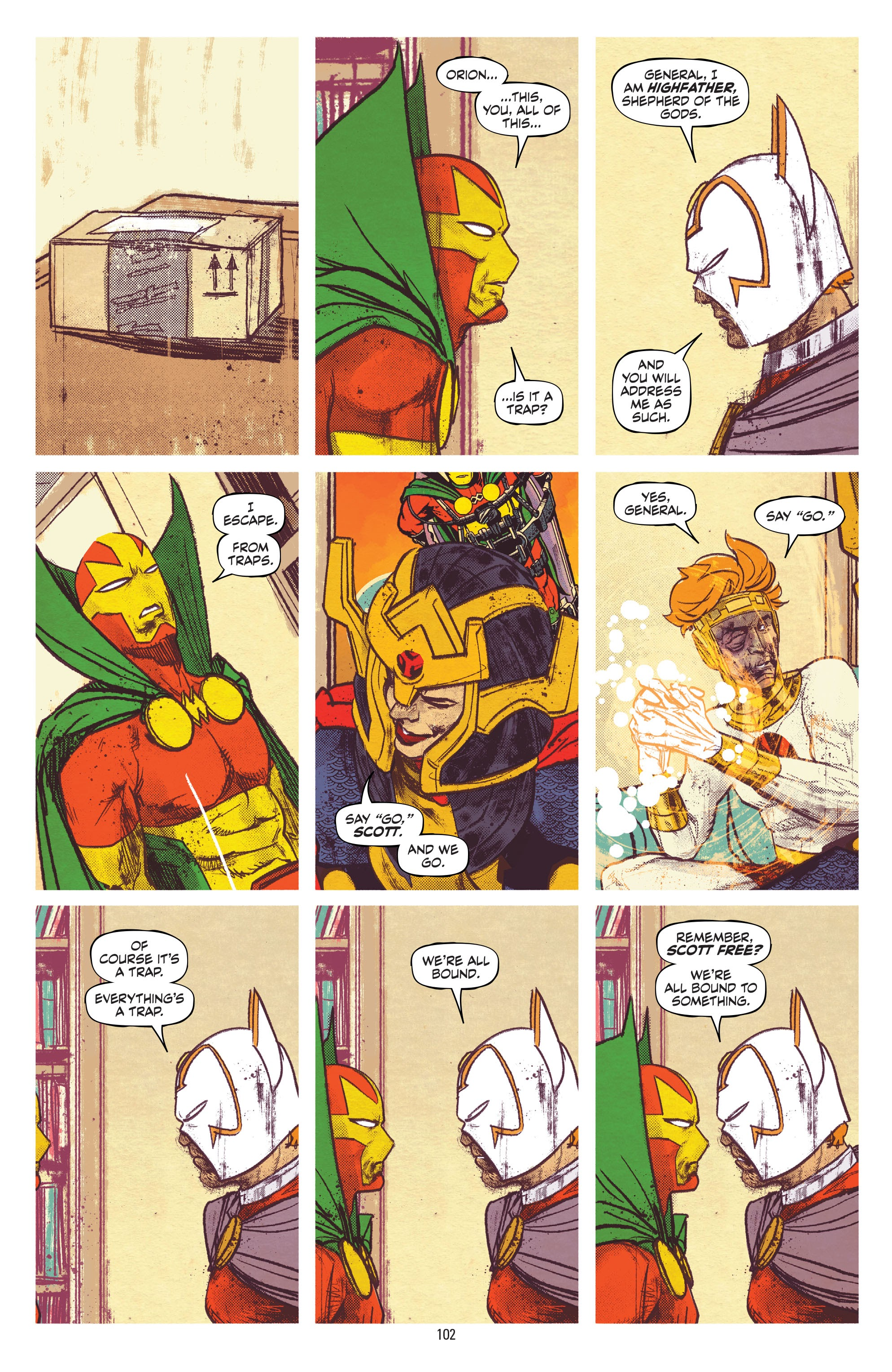 Mister Miracle (2017) _TPB_(Part_2) Page 1