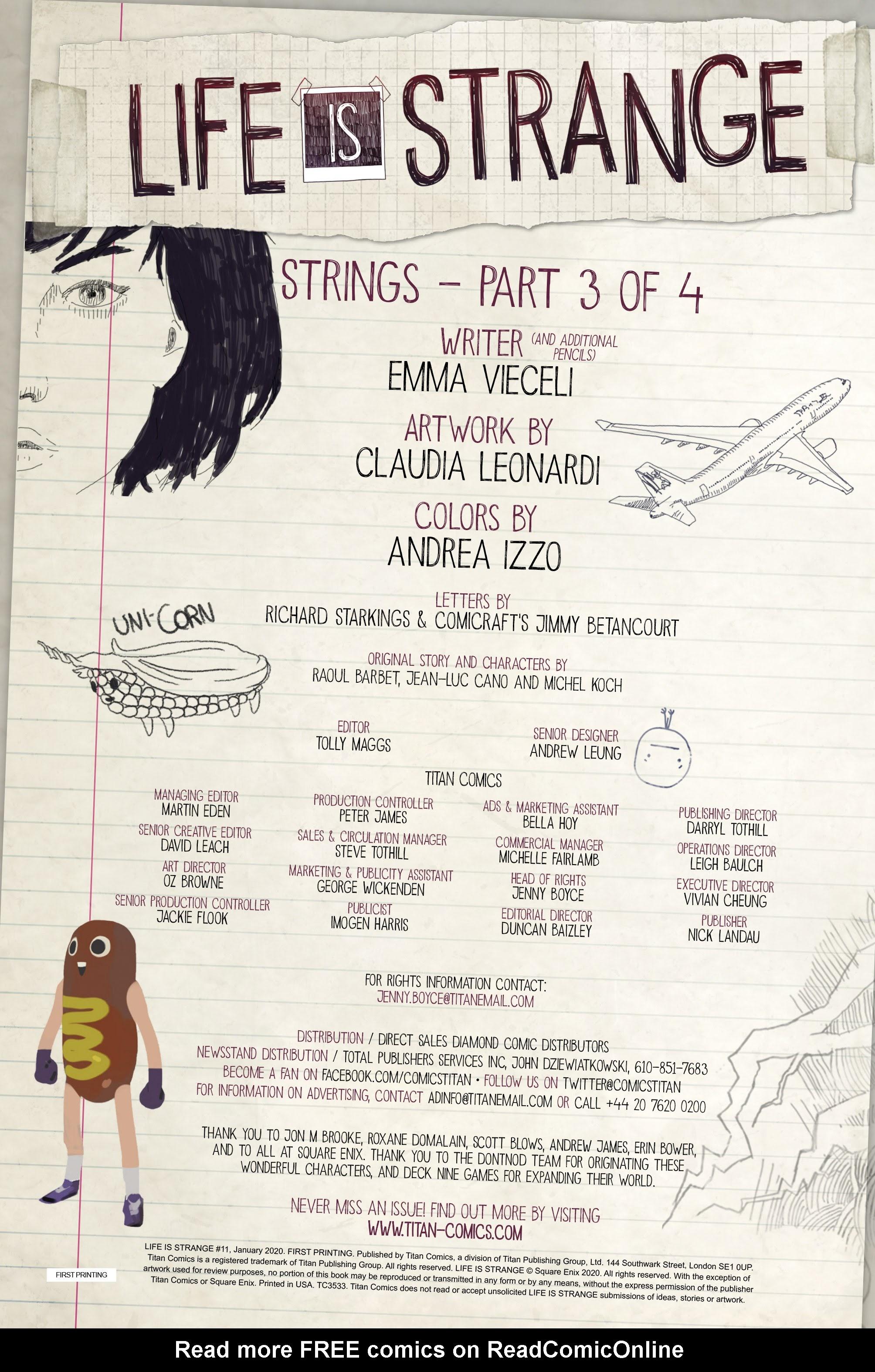 Life is Strange 11  #11 - English 6