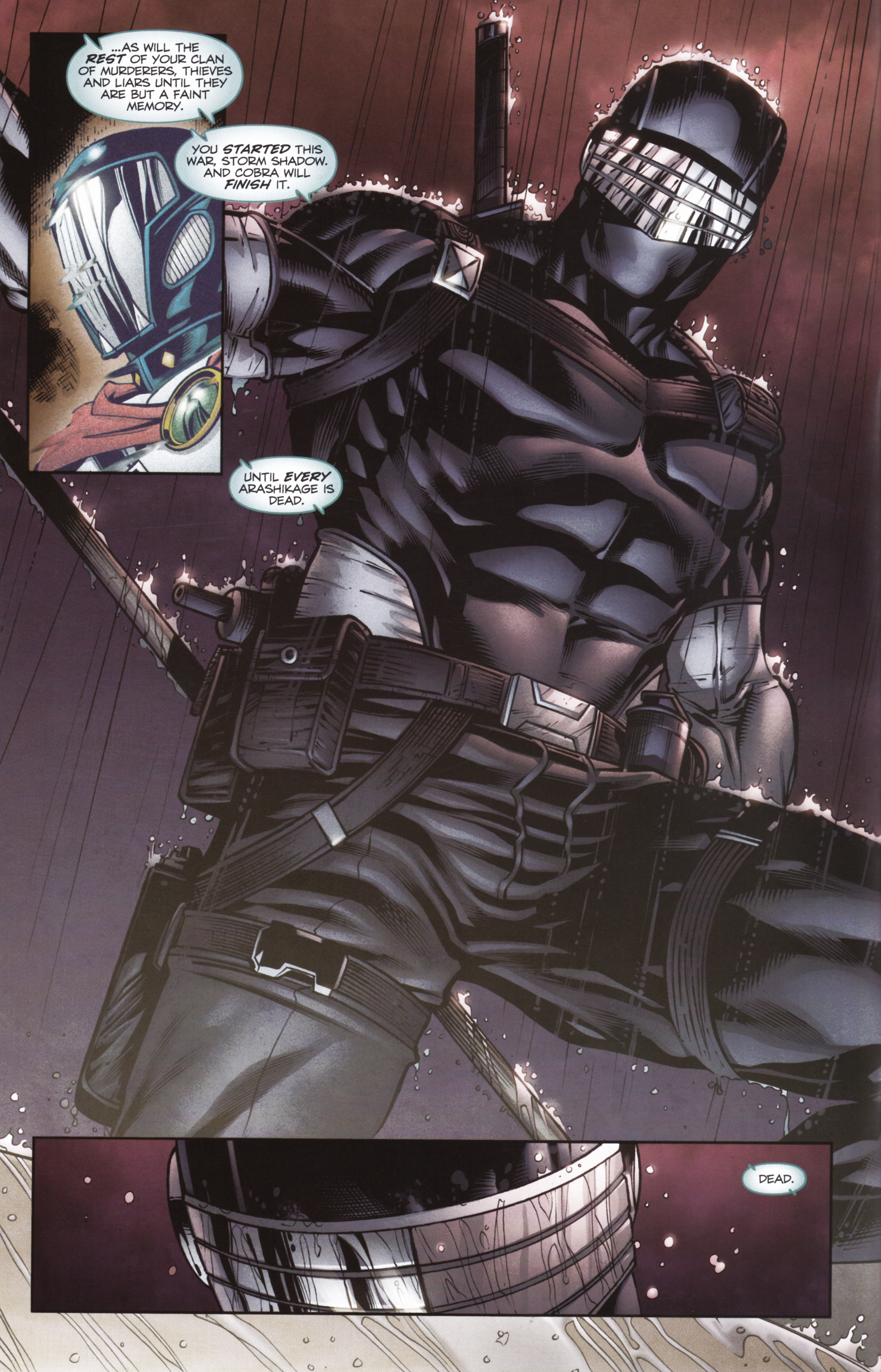 Read online Snake Eyes and Storm Shadow comic -  Issue #16 - 4