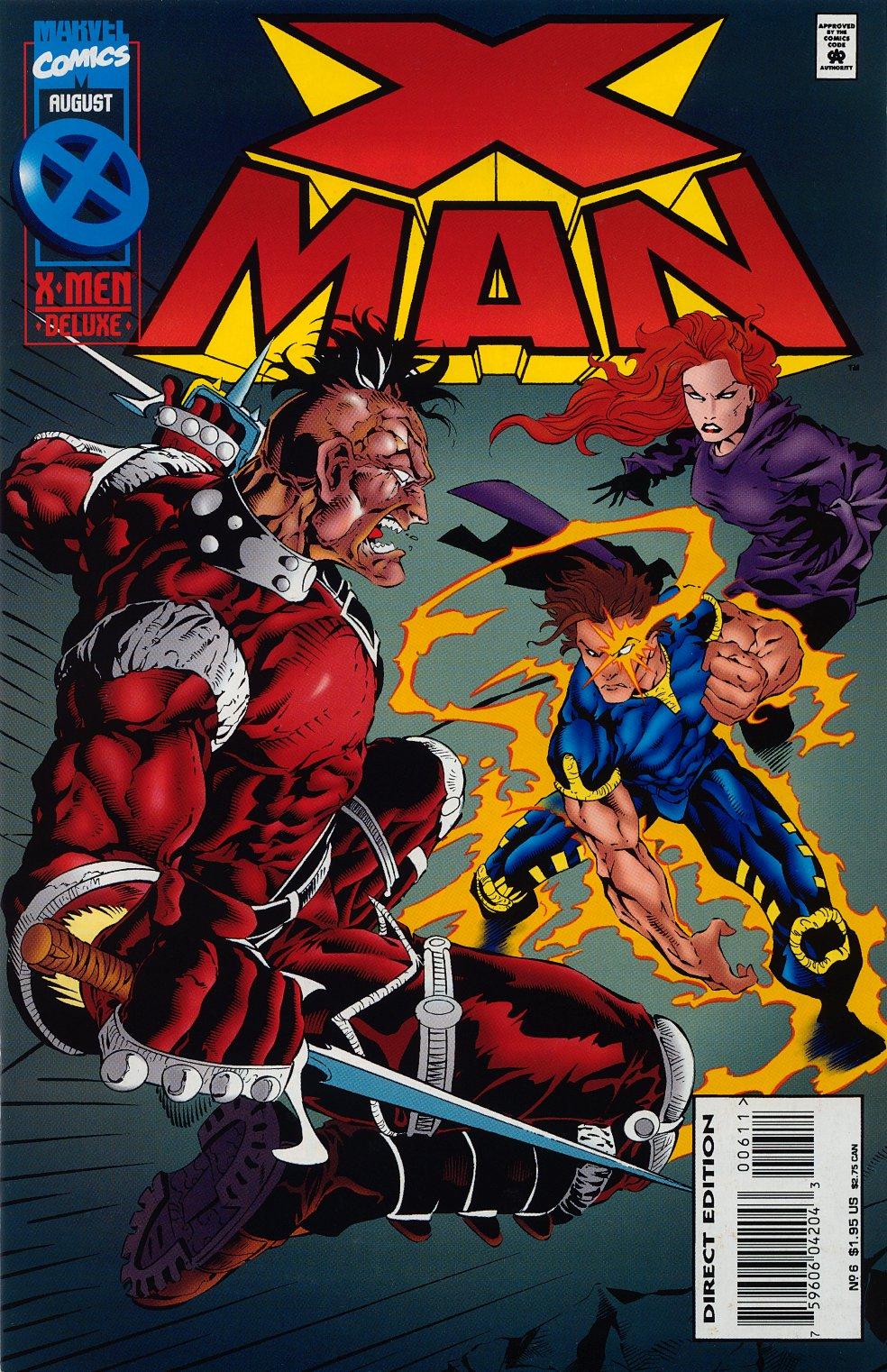 X-Man 6 Page 1